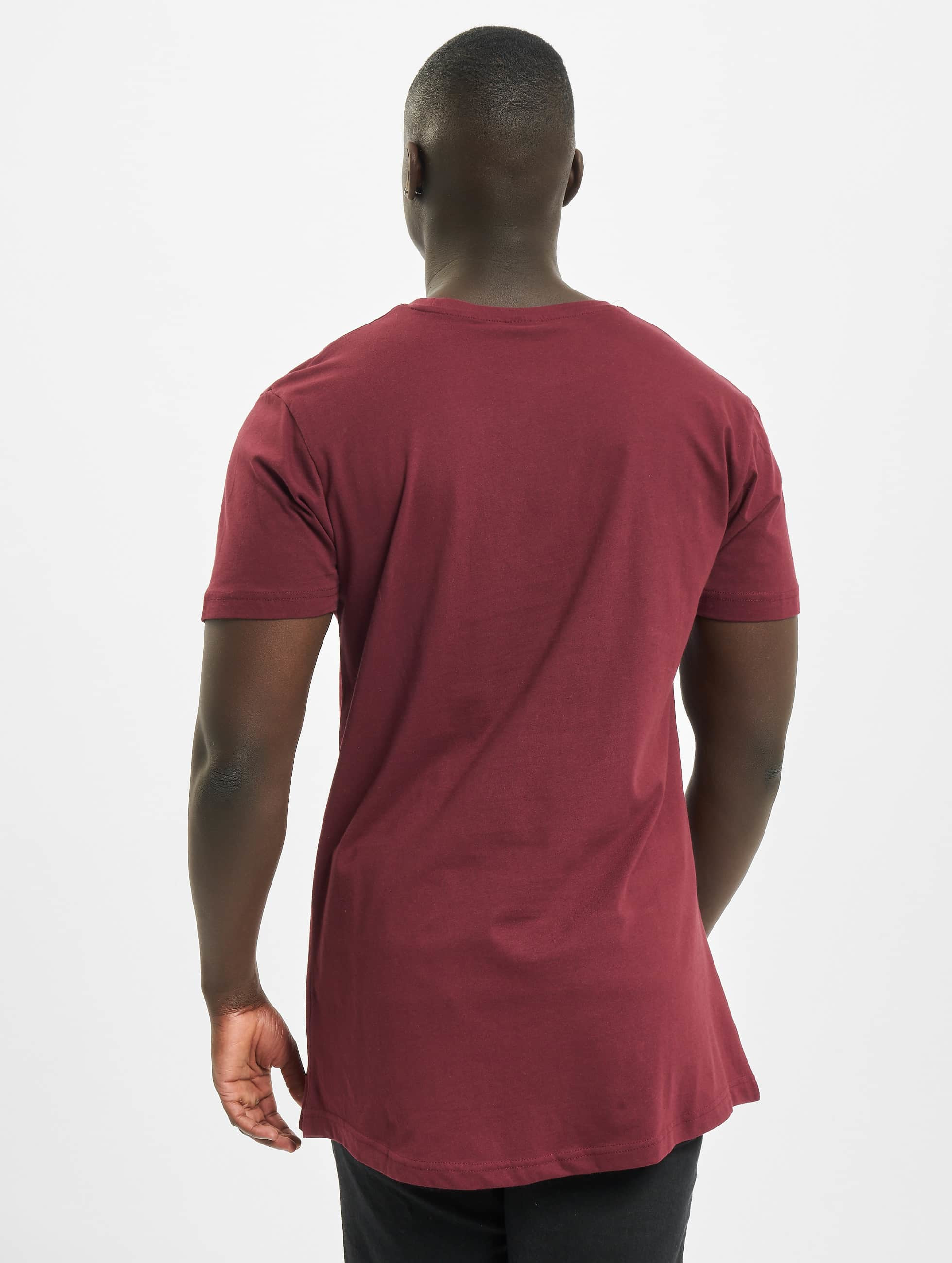 Urban Classics Tall Tees Shaped Oversized Long red