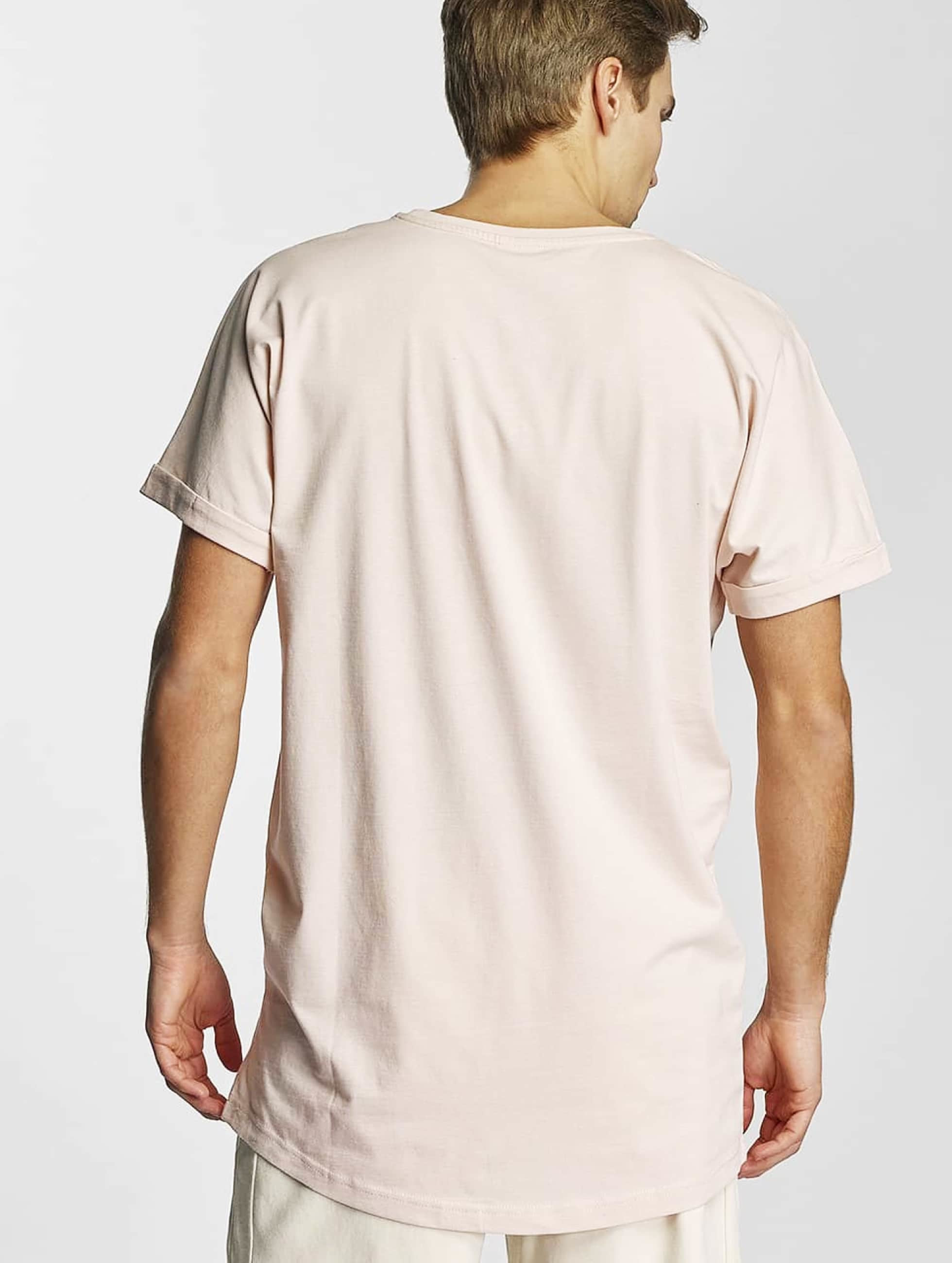 Urban Classics Tall Tees Long Shaped Turnup ružová