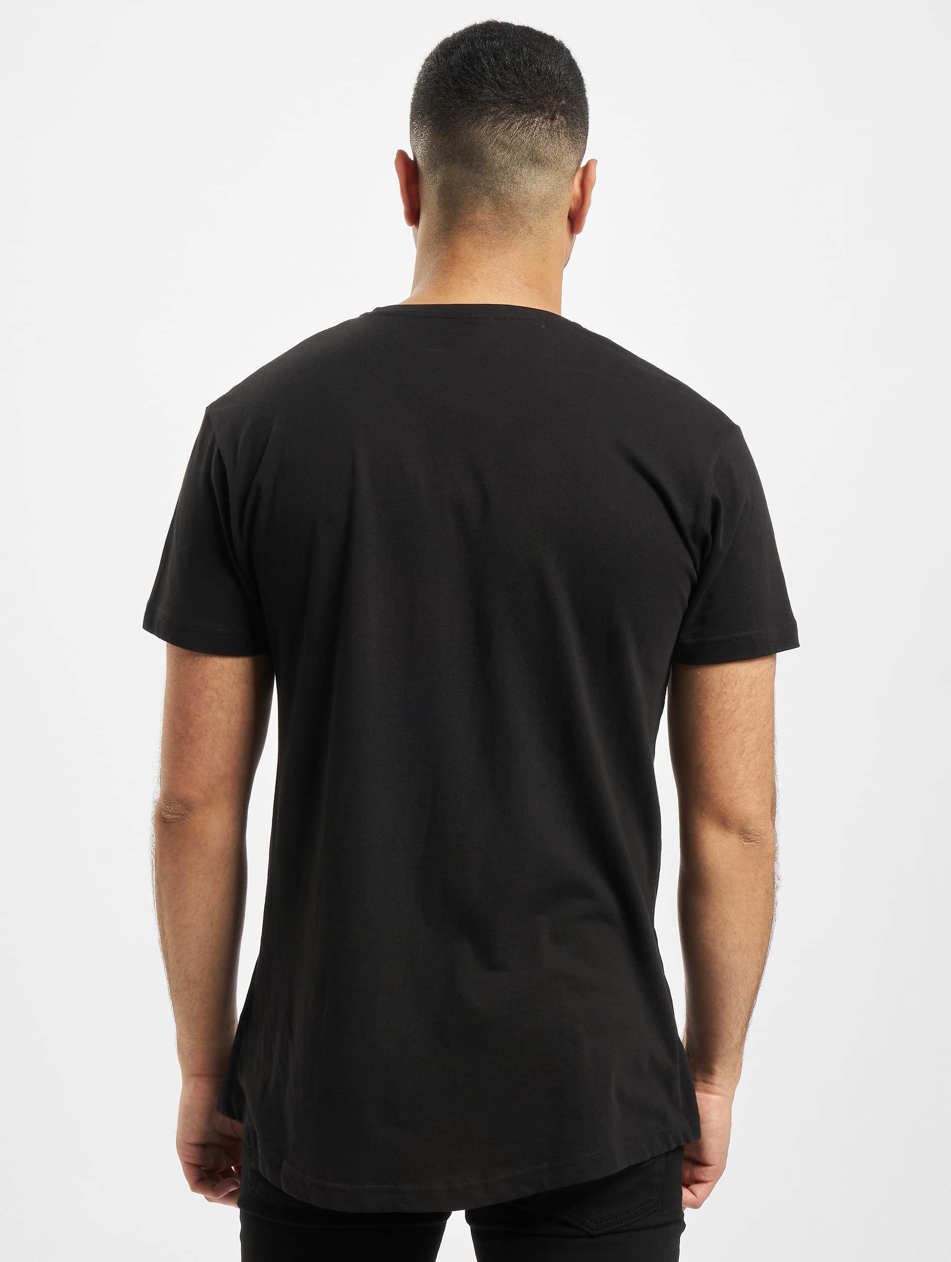 Urban Classics Tall Tees Shaped Long schwarz