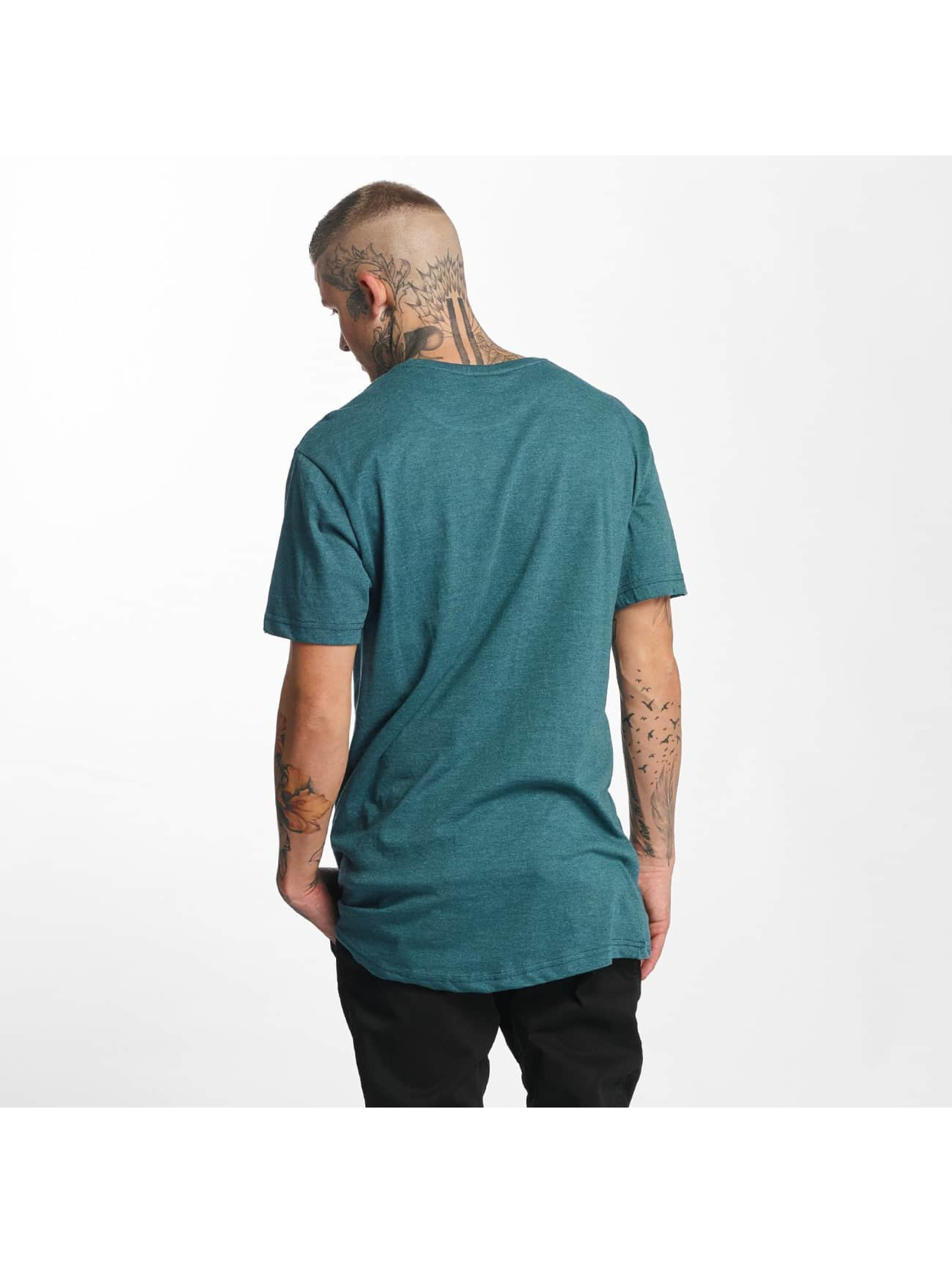 Urban Classics Tall Tees Shaped Melange Oversized Long turquesa