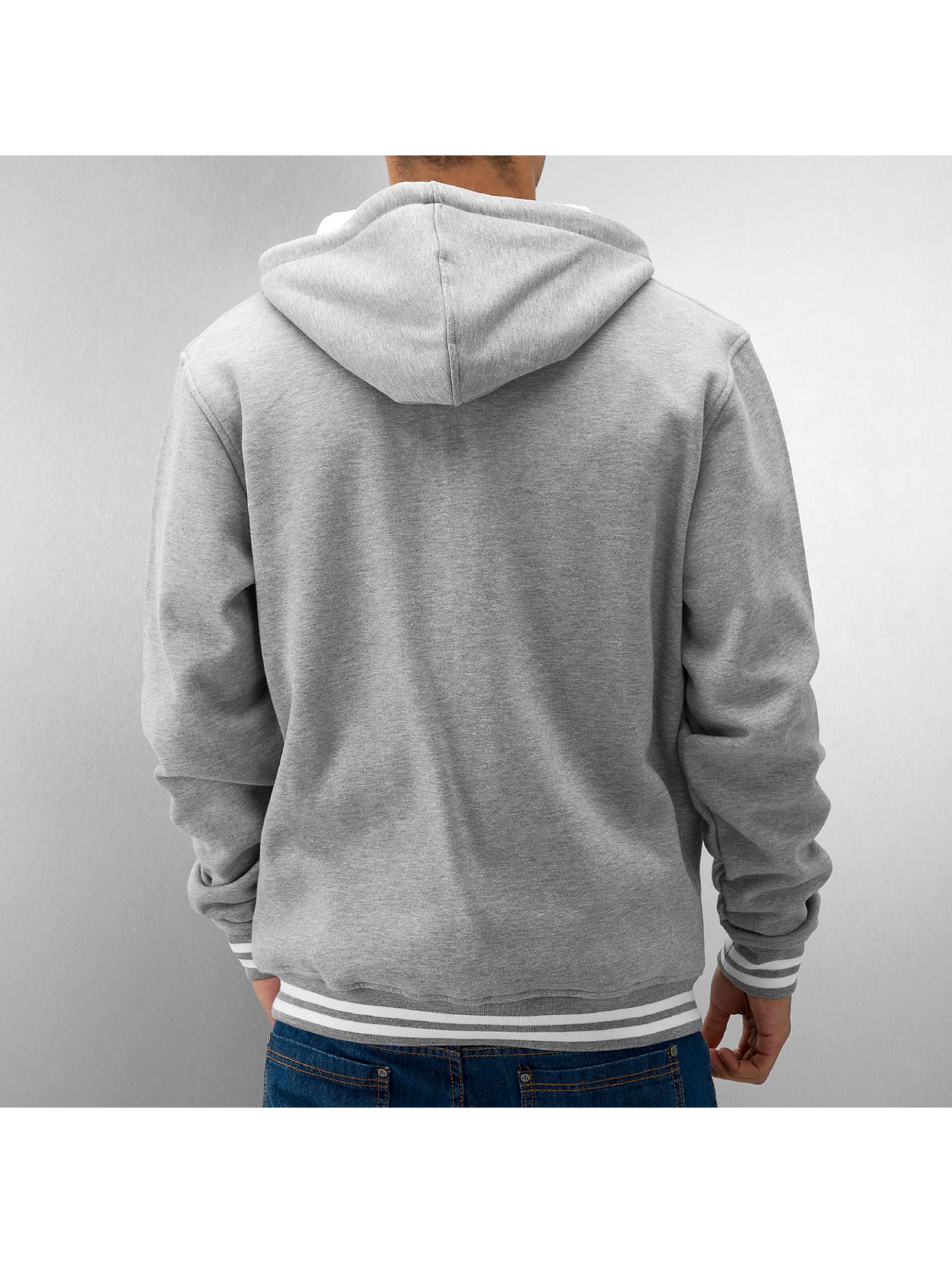 Urban Classics Teddy Hooded gris