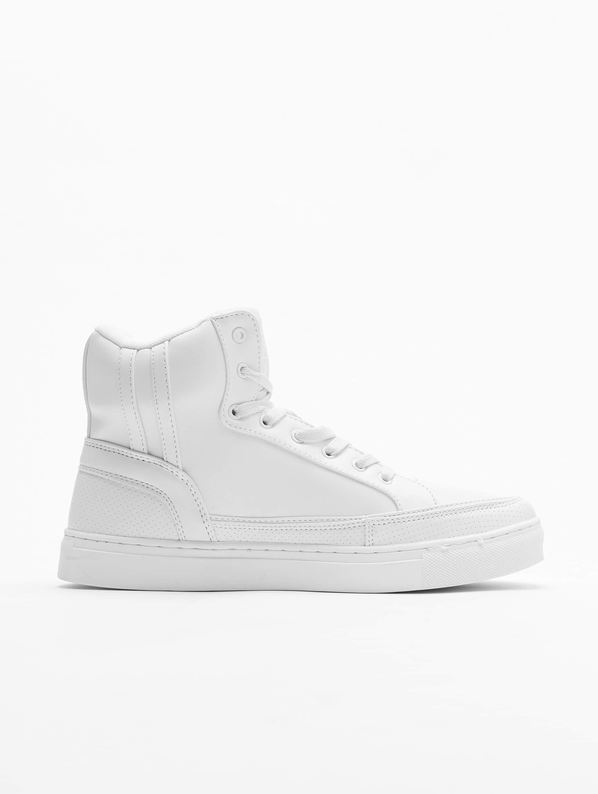 Urban Classics Tennarit Zipper valkoinen