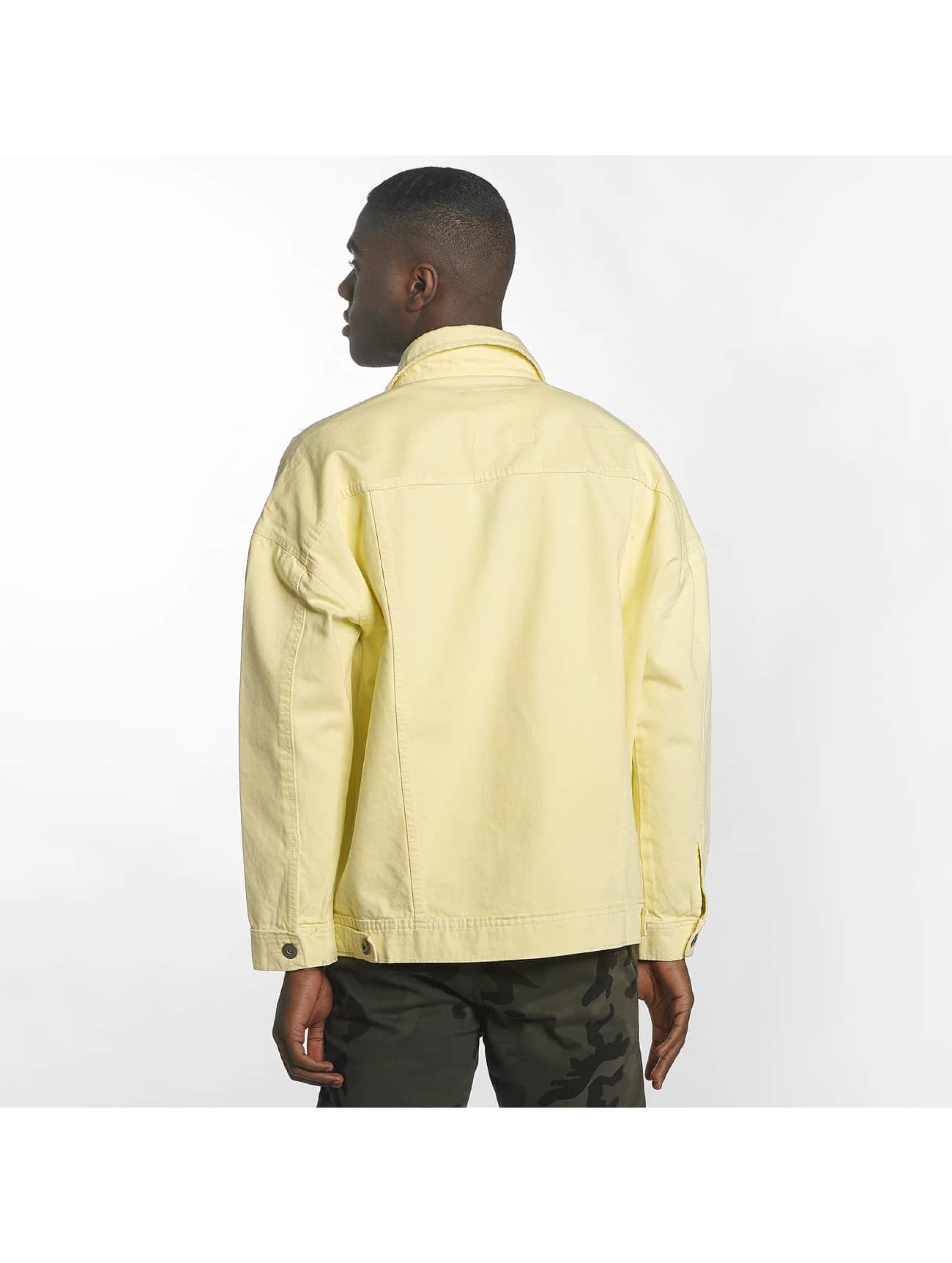 Urban Classics Transitional Jackets Garment Dye Oversize gul