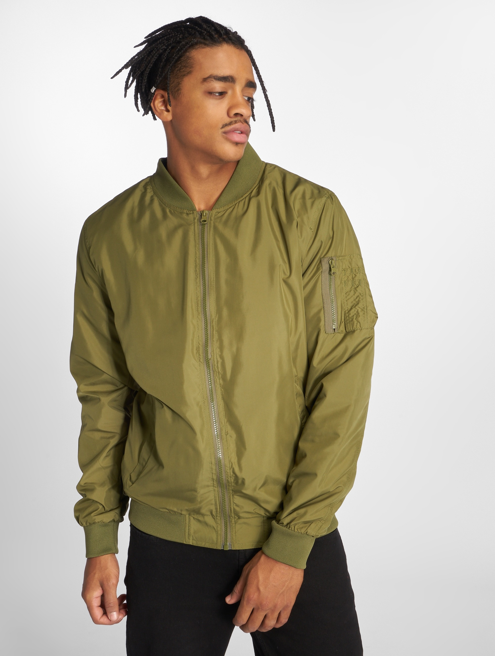 Urban Classics Transitional Jackets Light Bomber oliven