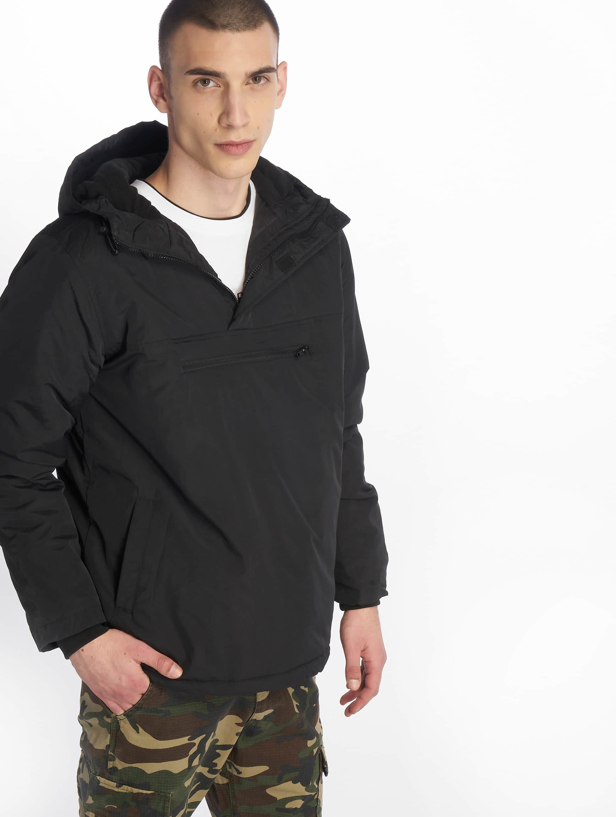 Urban Classics Transitional Jackets Padded Pull svart