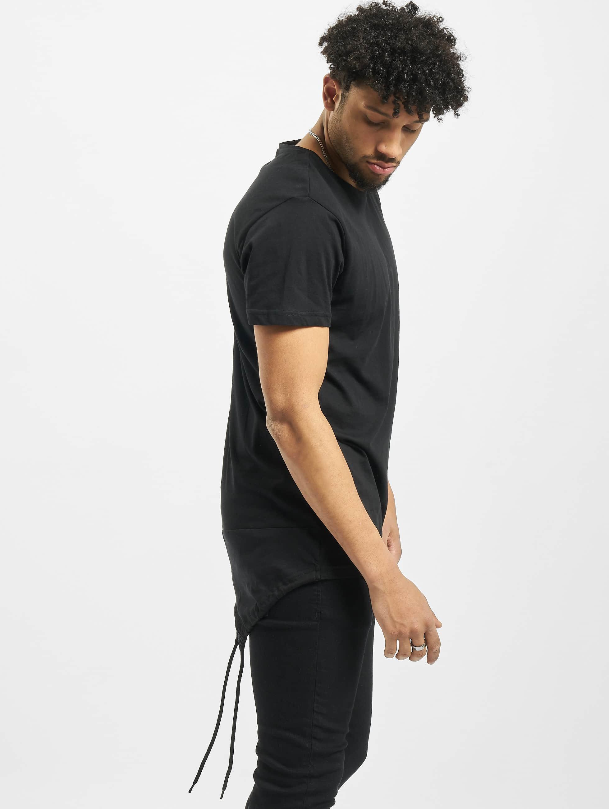 Urban Classics Tričká Long Tail èierna