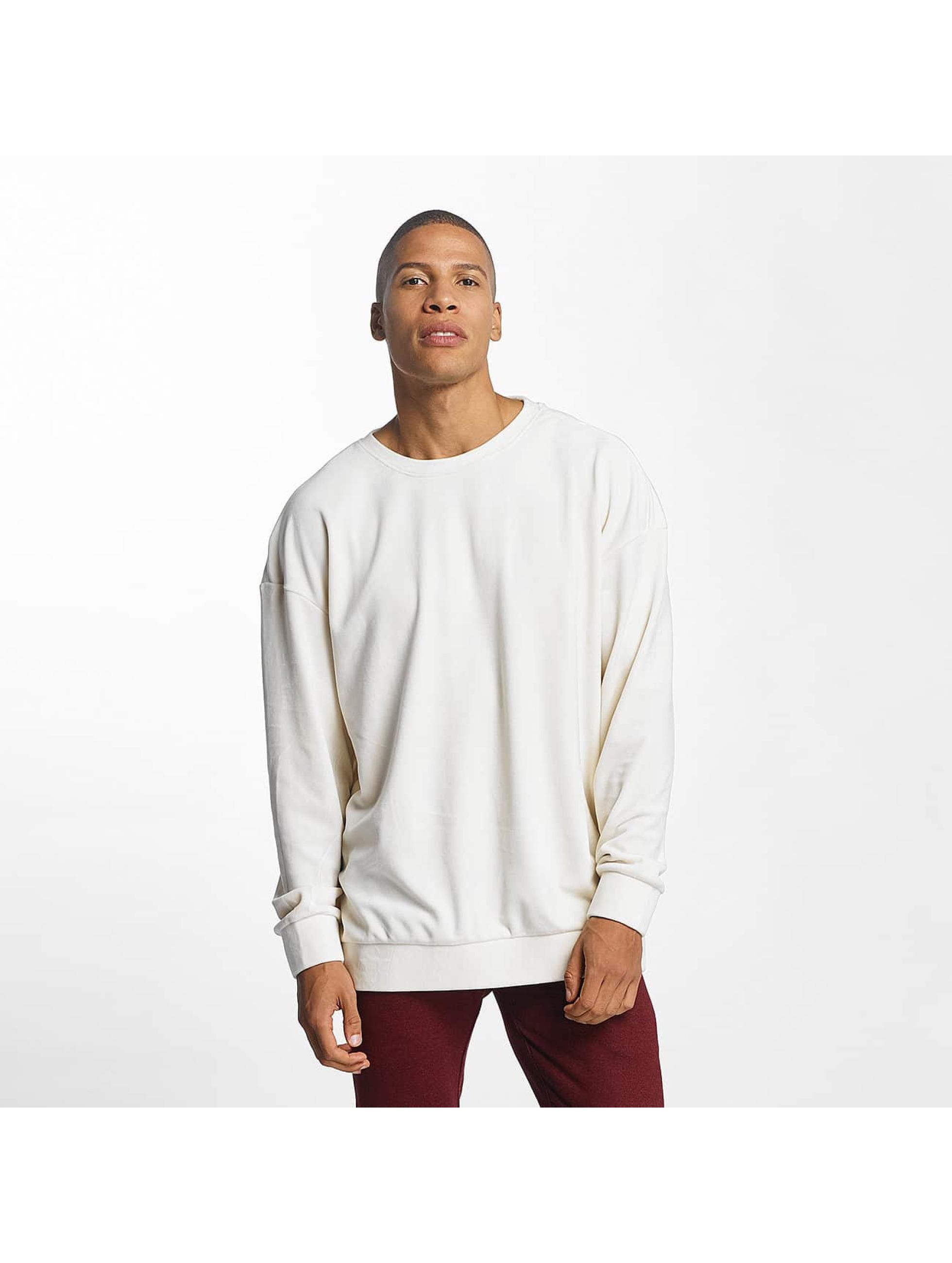 Urban Classics heren trui Velvet Oversized - beige