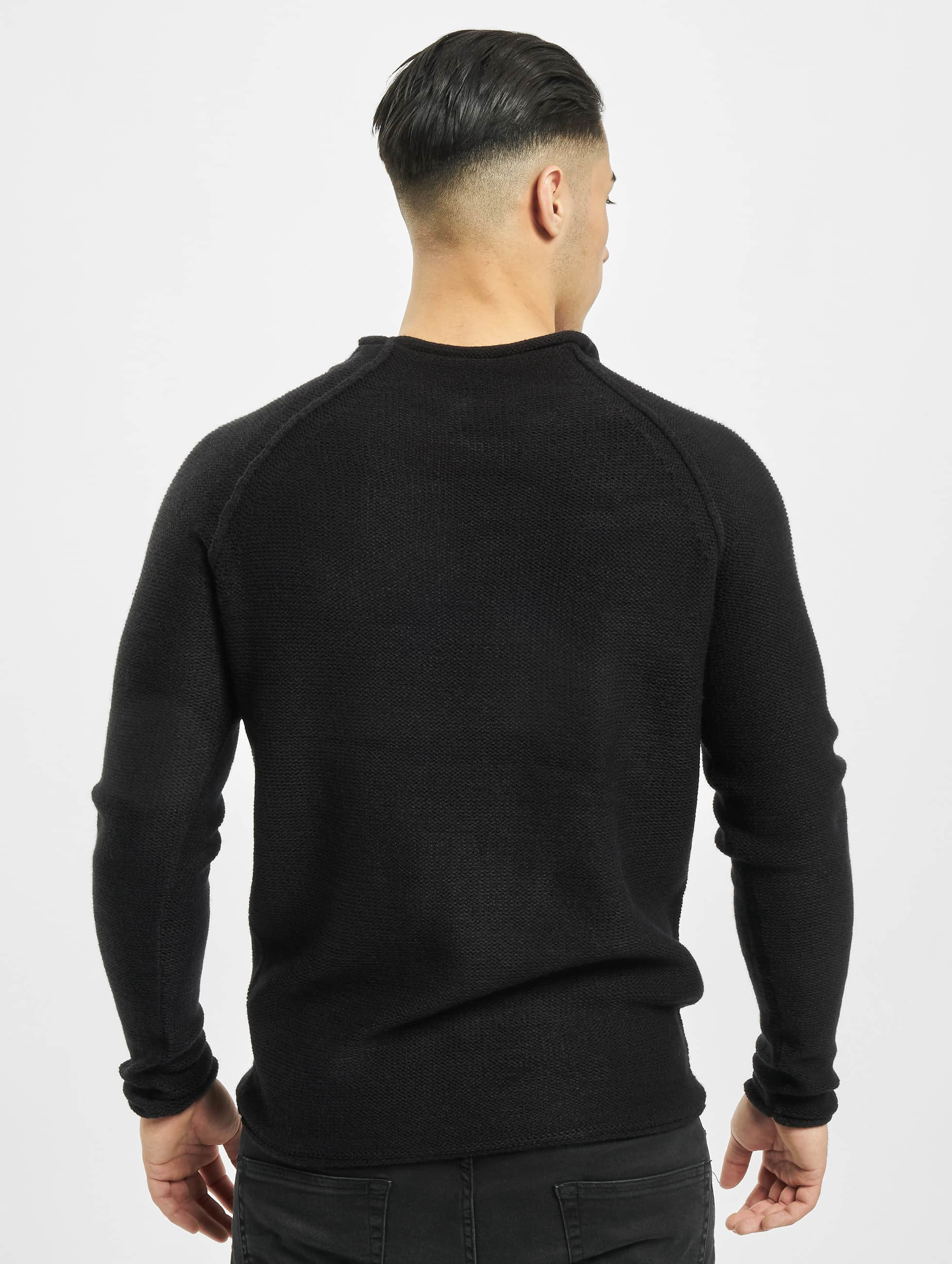 Urban Classics trui Raglan Wideneck zwart