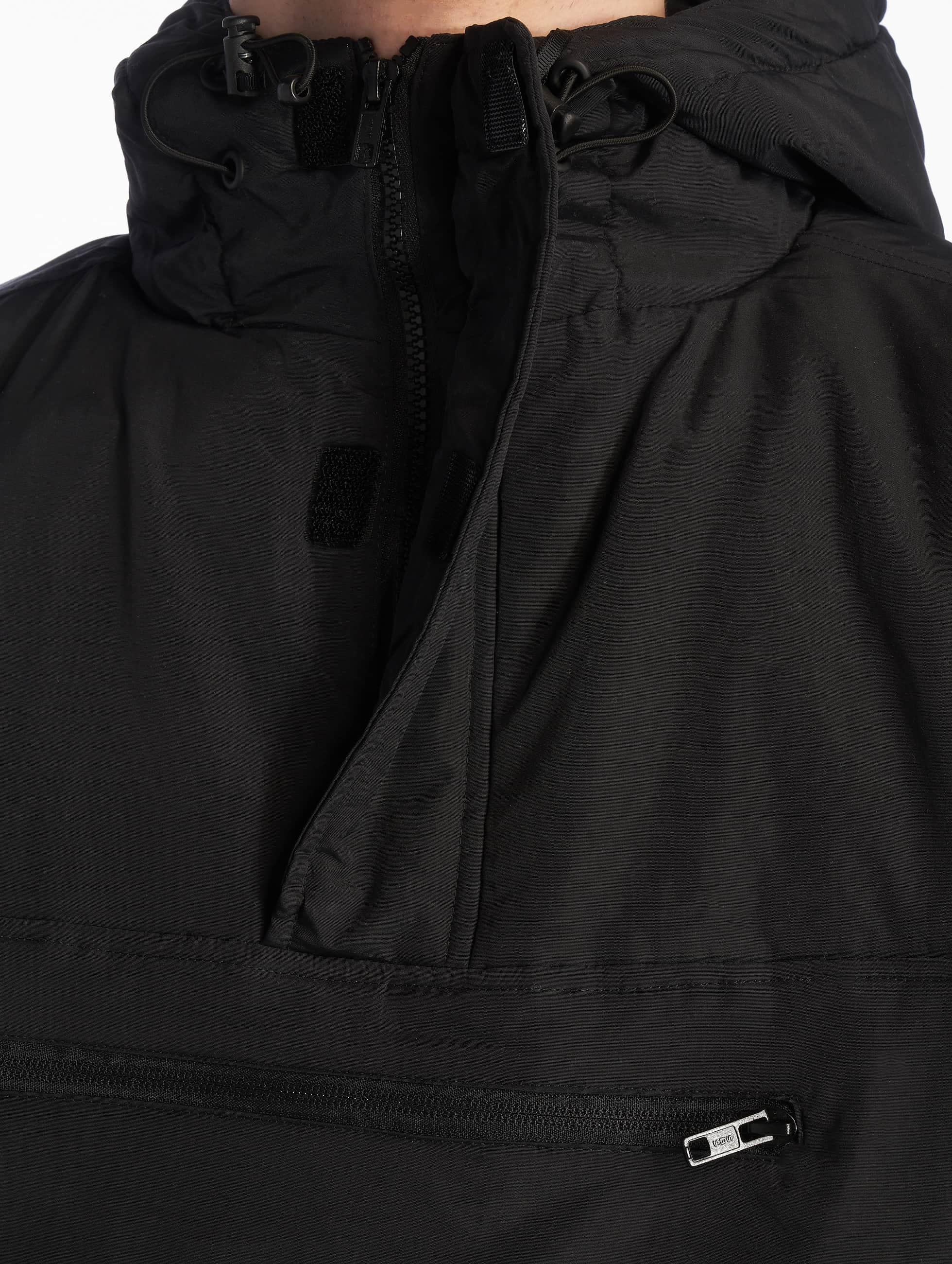 Urban Classics Übergangsjacke Padded Pull schwarz