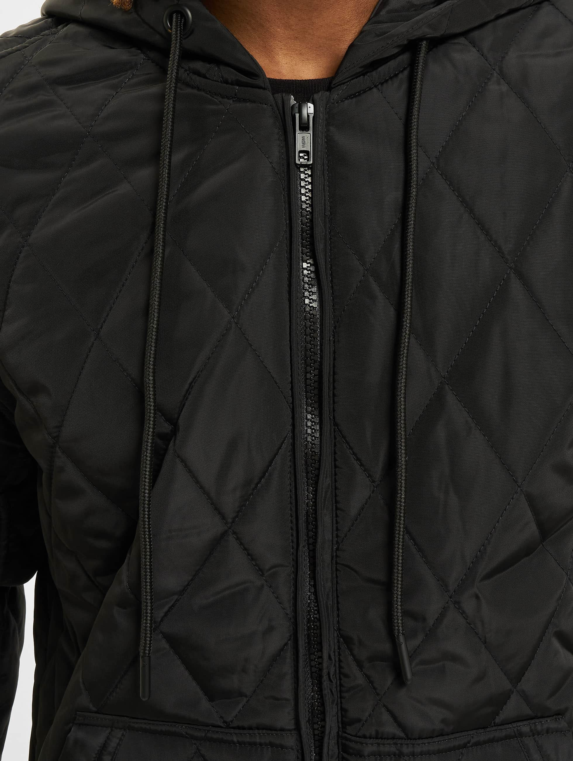 Urban Classics Übergangsjacke Hooded Big schwarz