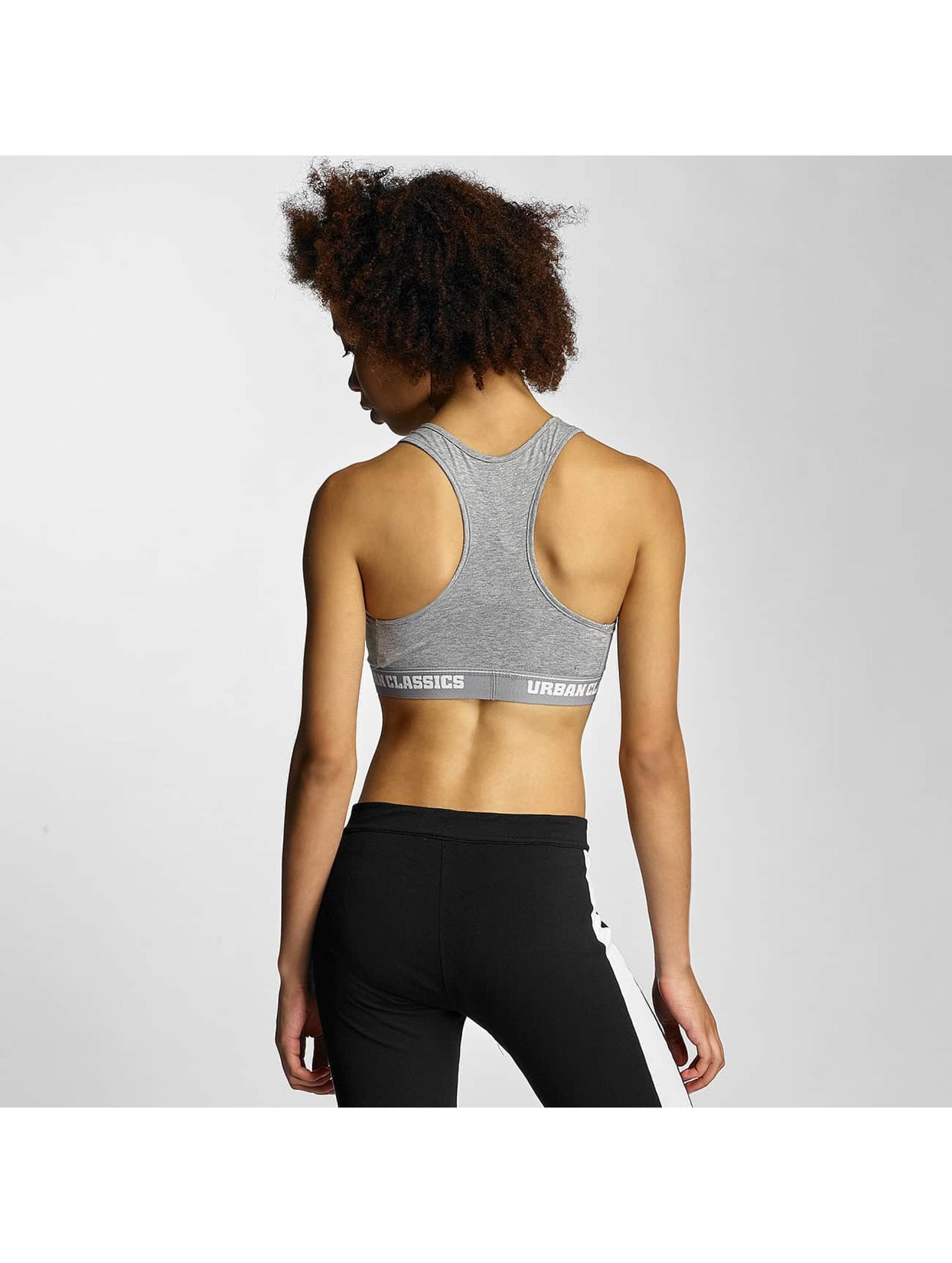 Urban Classics Underwear Ladies Logo grey