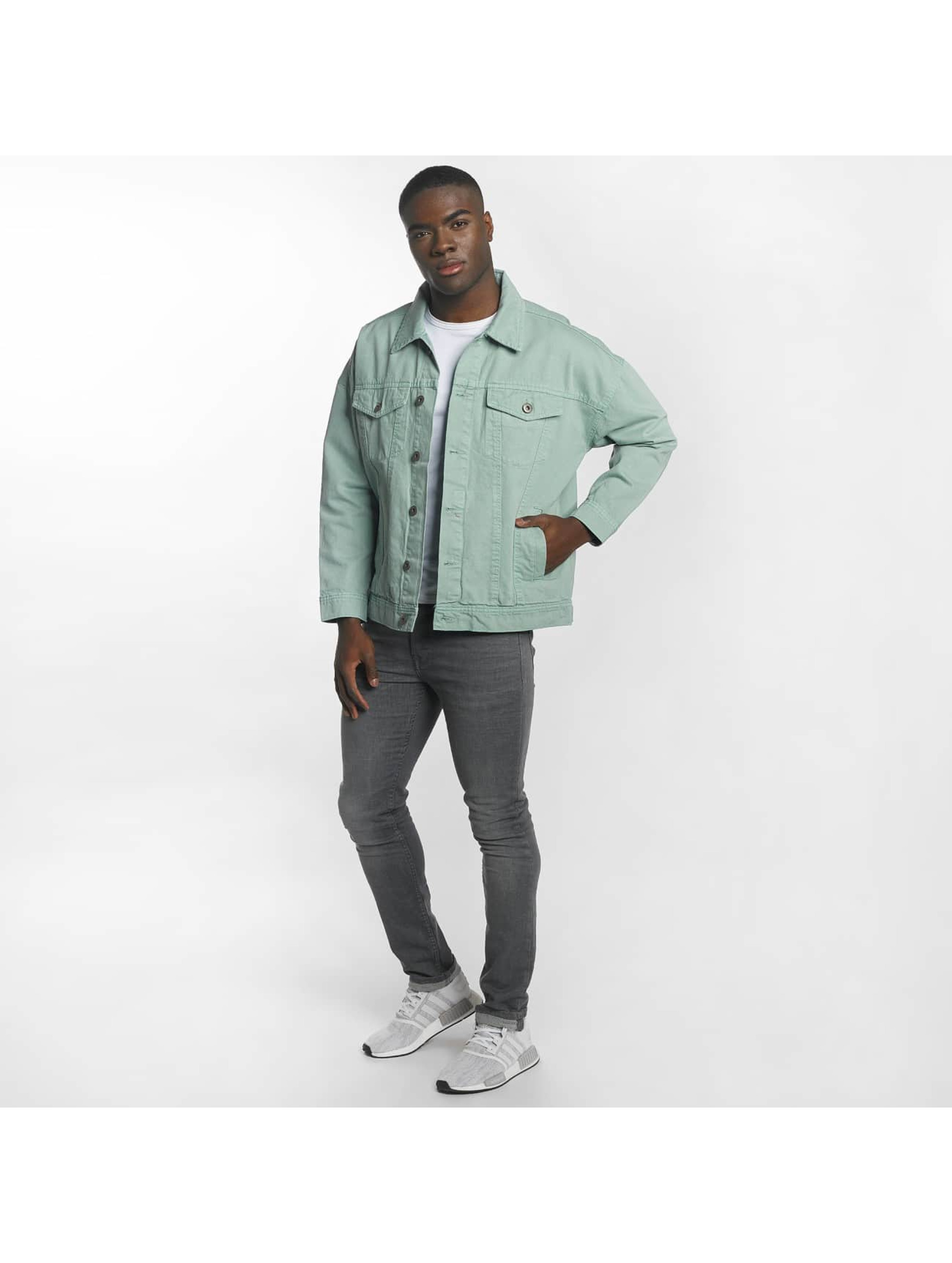 Urban Classics Välikausitakit Garment Dye Oversize turkoosi