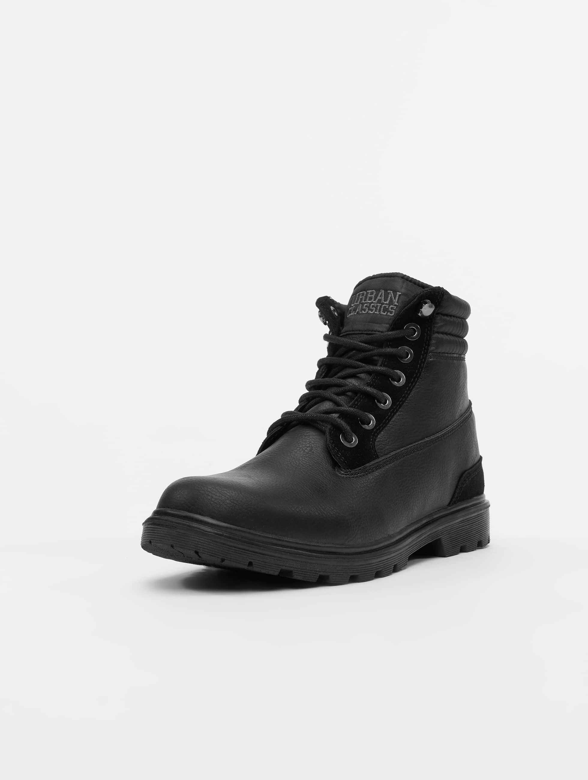 Urban Classics Vapaa-ajan kengät Winter musta