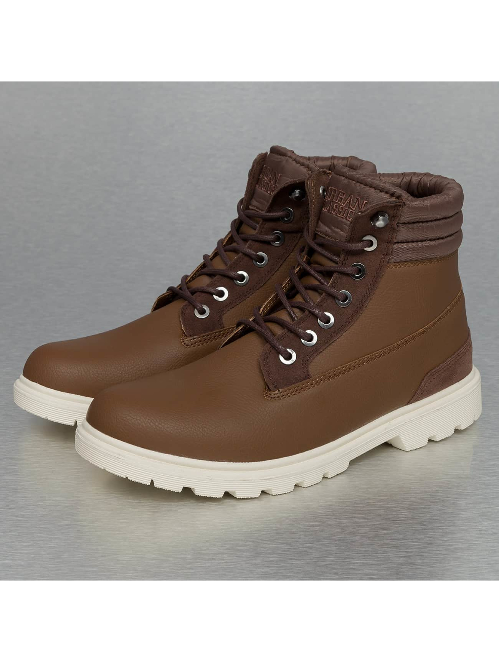 Urban Classics Vapaa-ajan kengät Winter ruskea