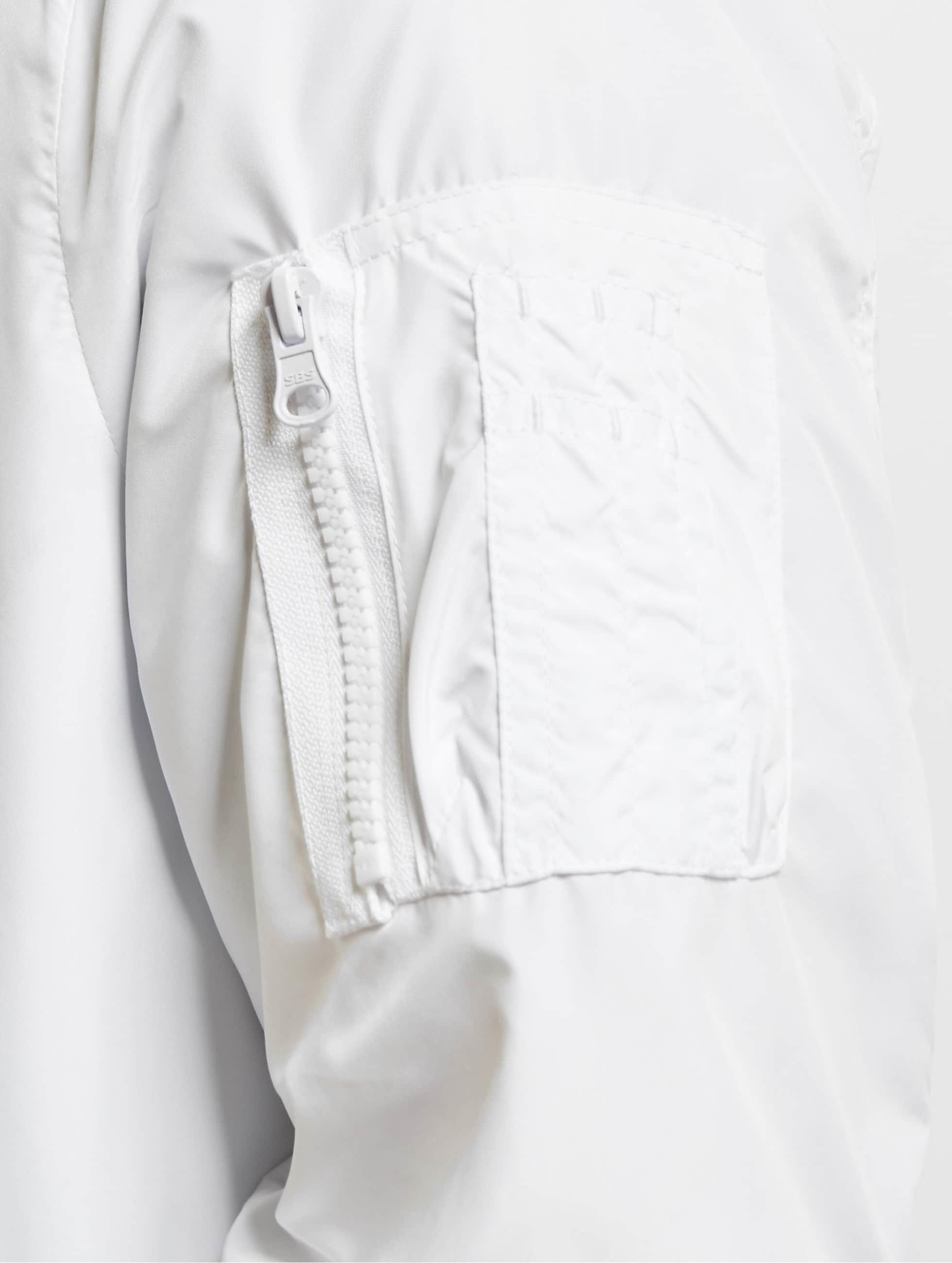 Urban Classics Veste mi-saison légère Light Bomber blanc