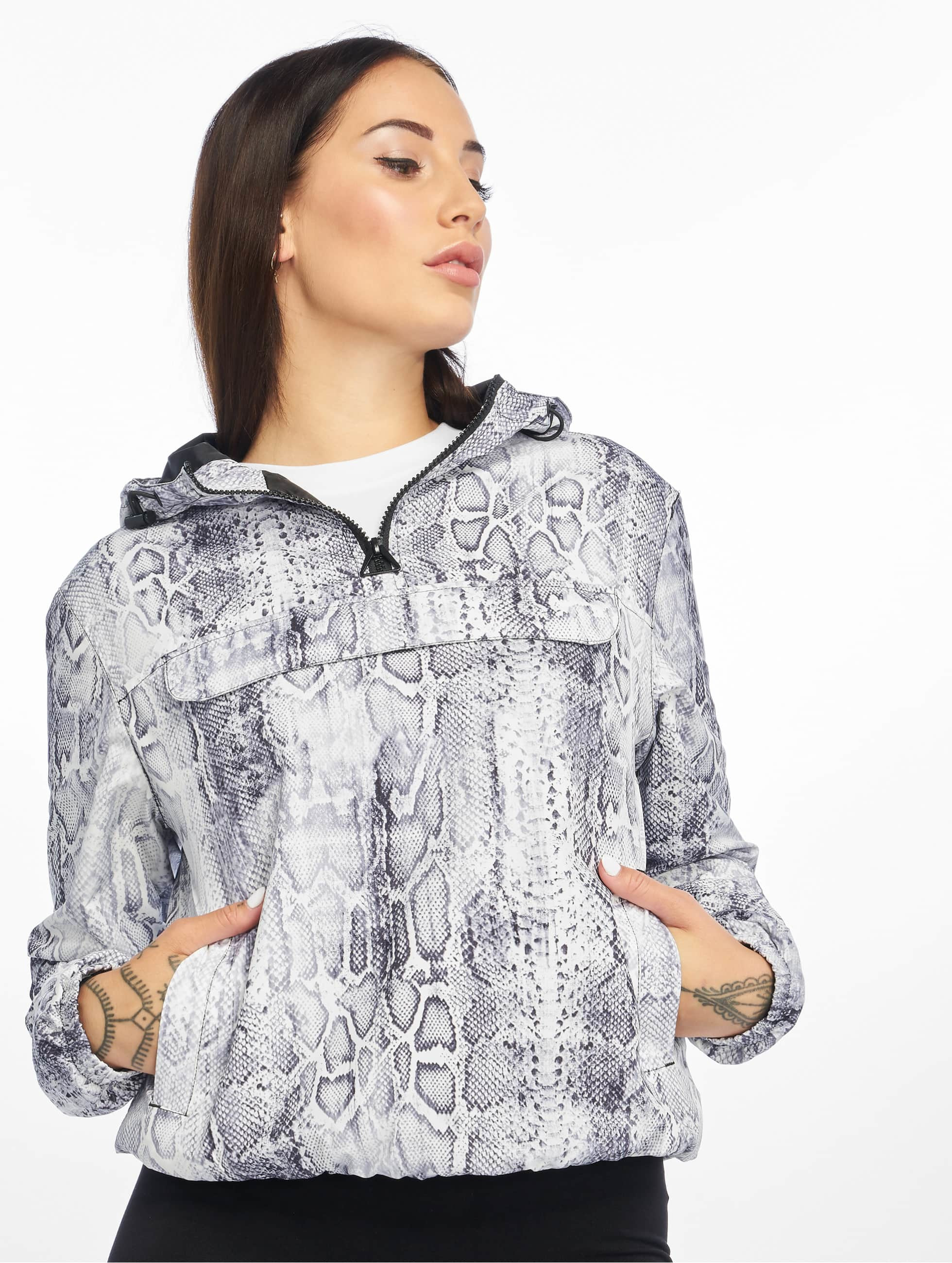 Urban Classics Pattern Pull Over Jacket Snake