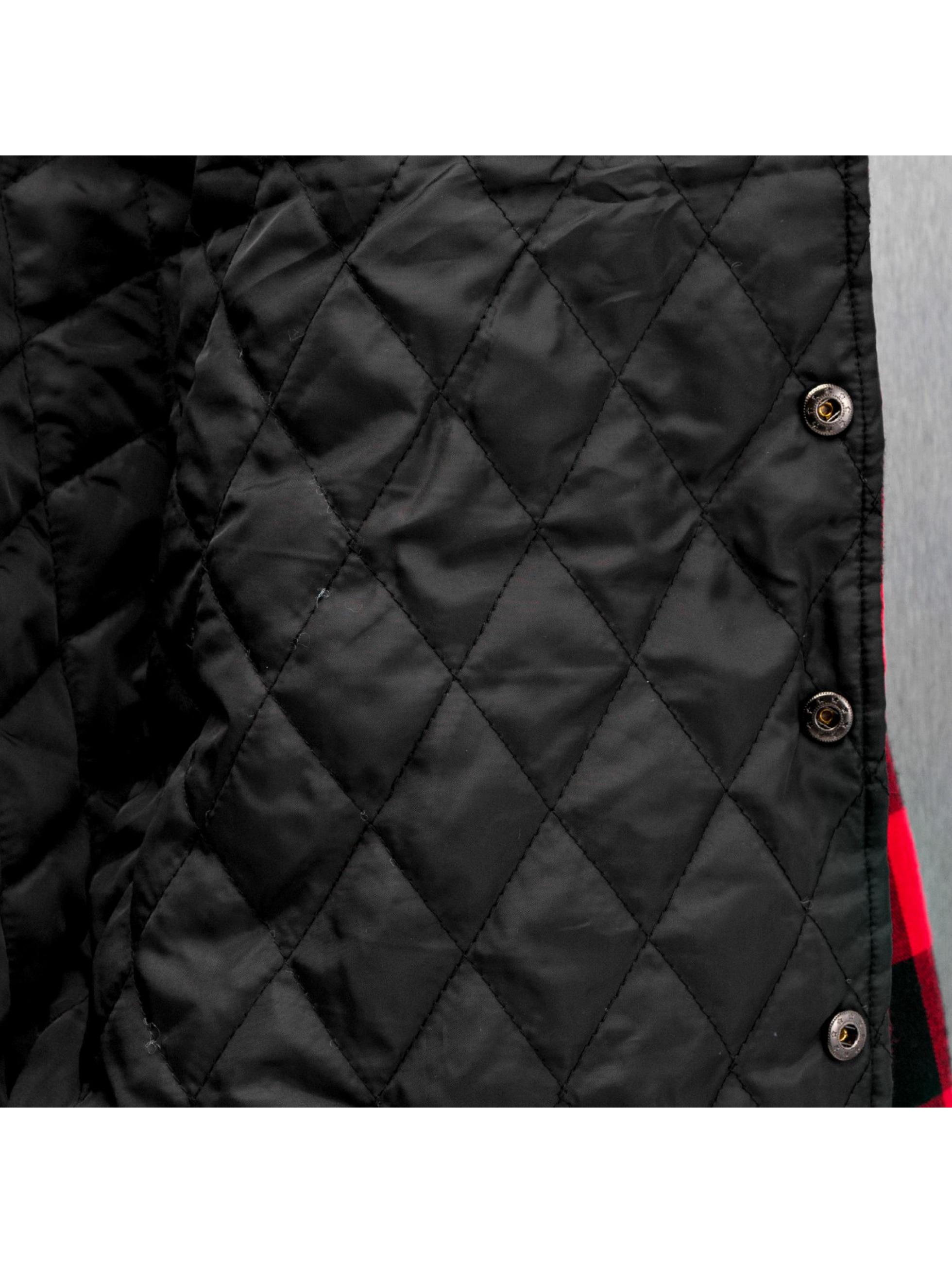 Urban Classics Veste mi-saison légère Padded Checked Flanell Light noir