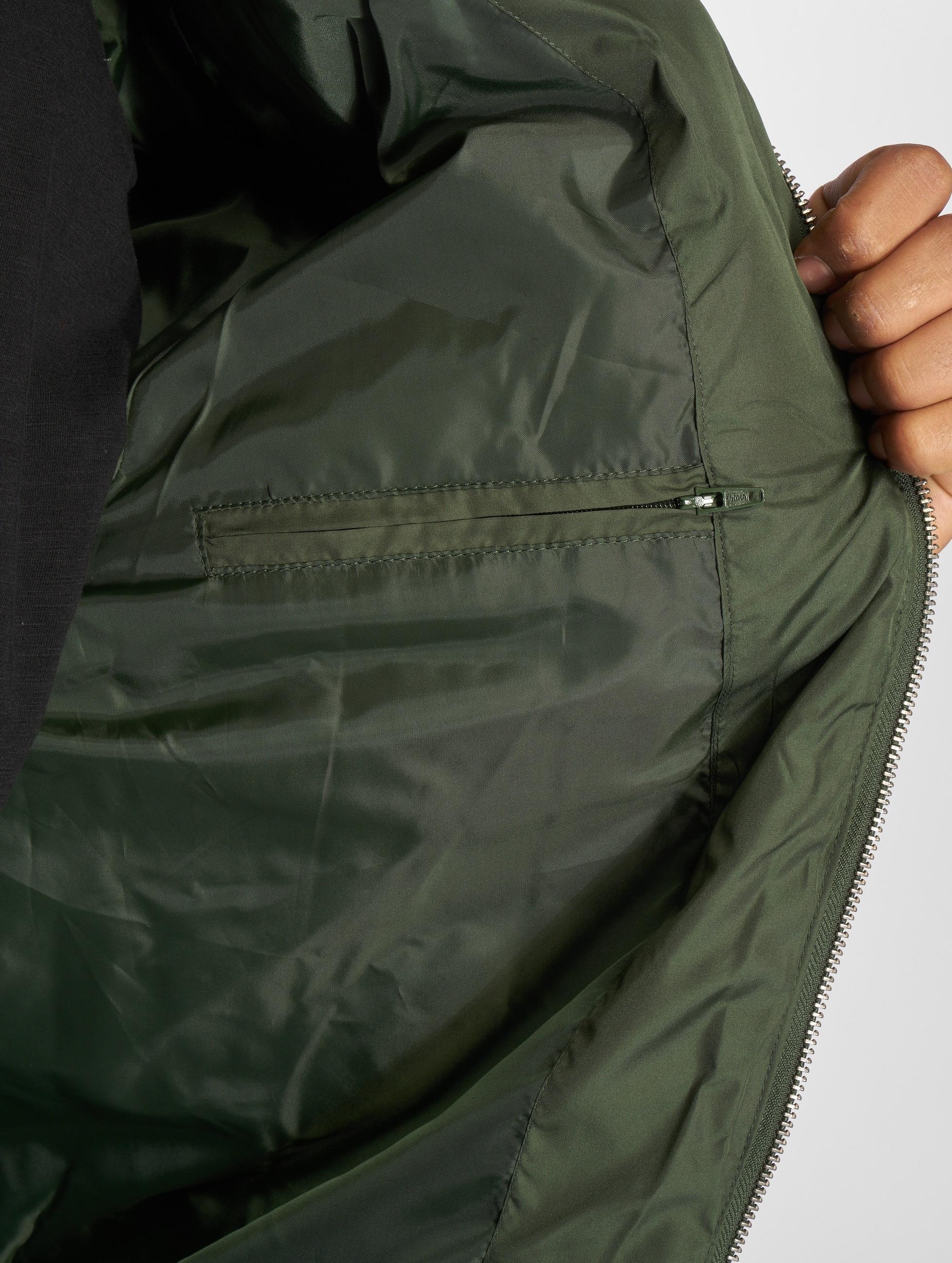 Urban Classics Veste mi-saison légère Diamond Quilt Nylon olive