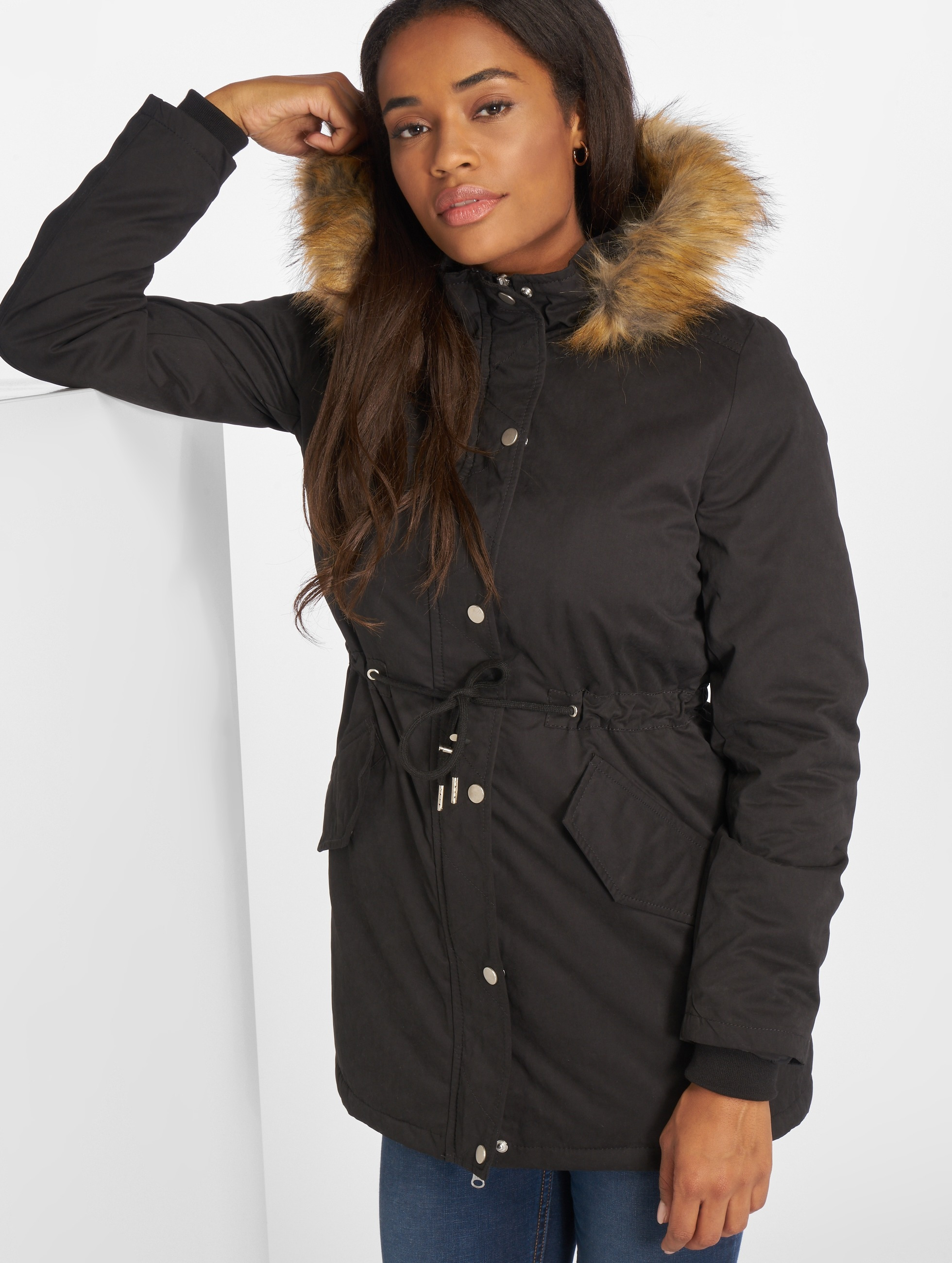 urban classics damen winterjacke ladies sherpa lined. Black Bedroom Furniture Sets. Home Design Ideas