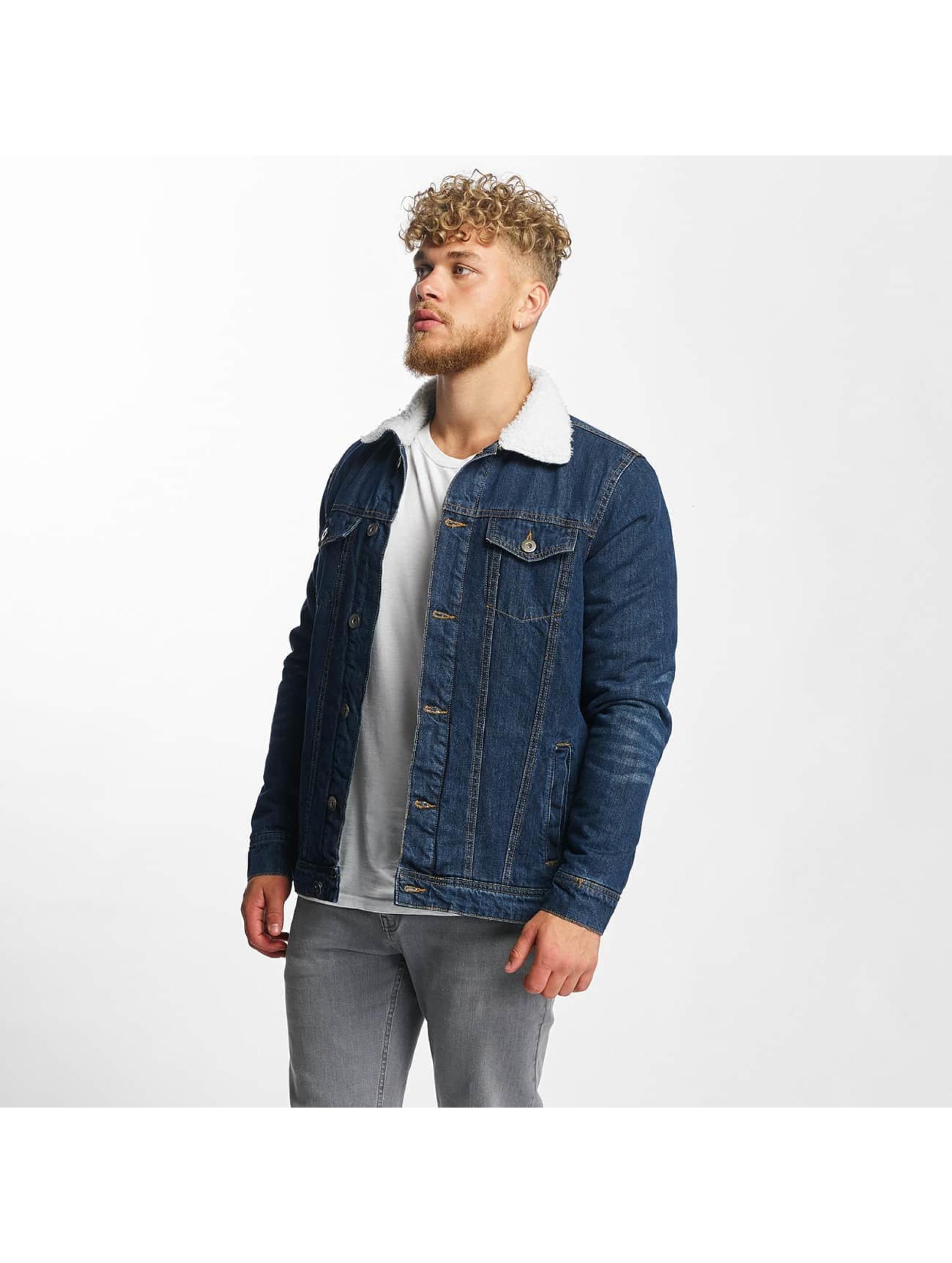 Urban Classics heren zomerjas Sherpa - blauw