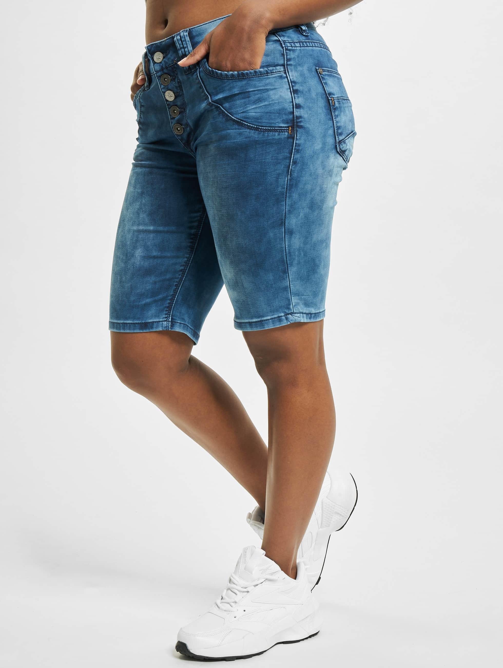 Urban Surface Pantalon / Shorts Anouk en bleu
