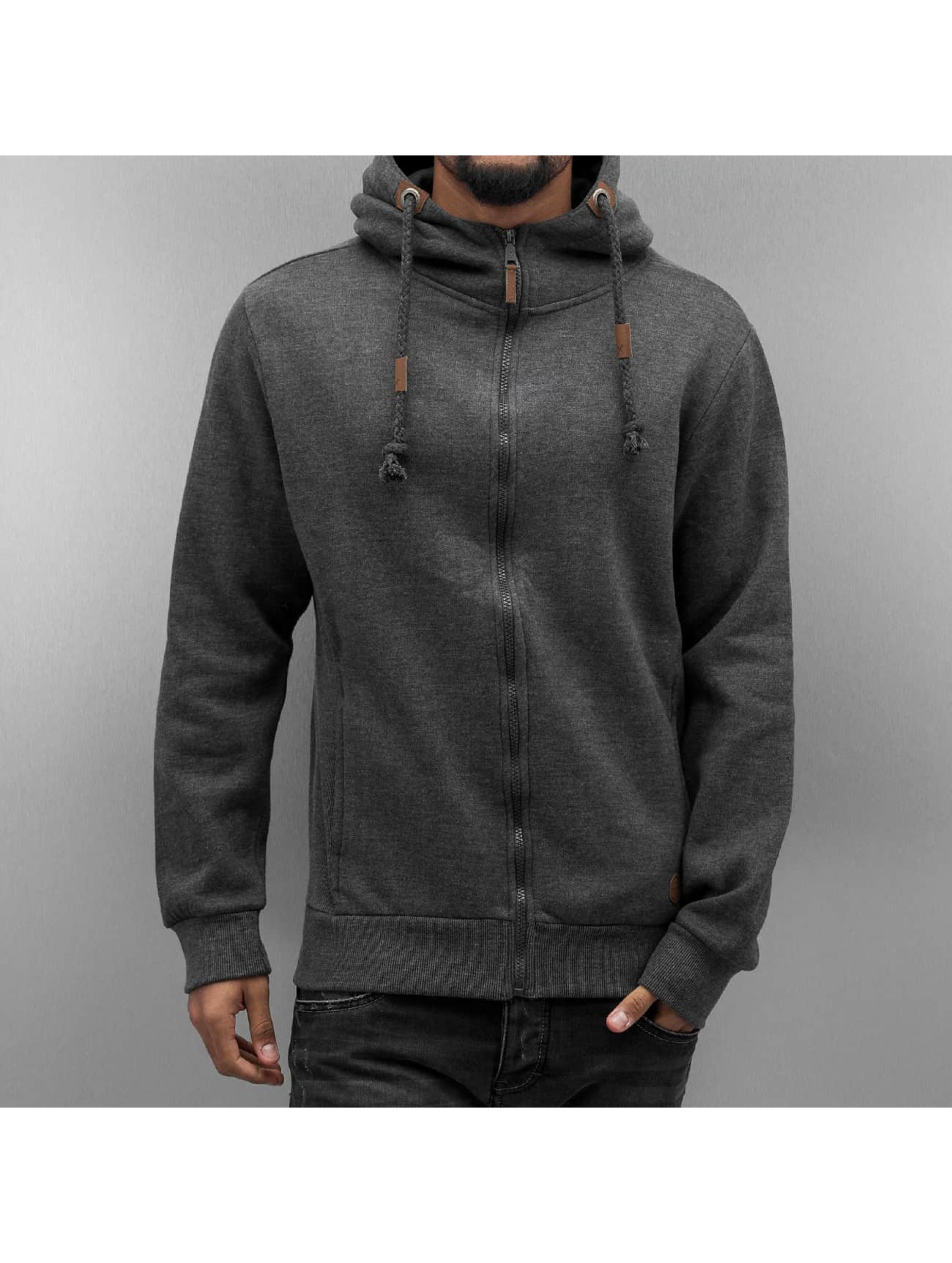 Urban Surface Sweat capuche zippé Cameron gris