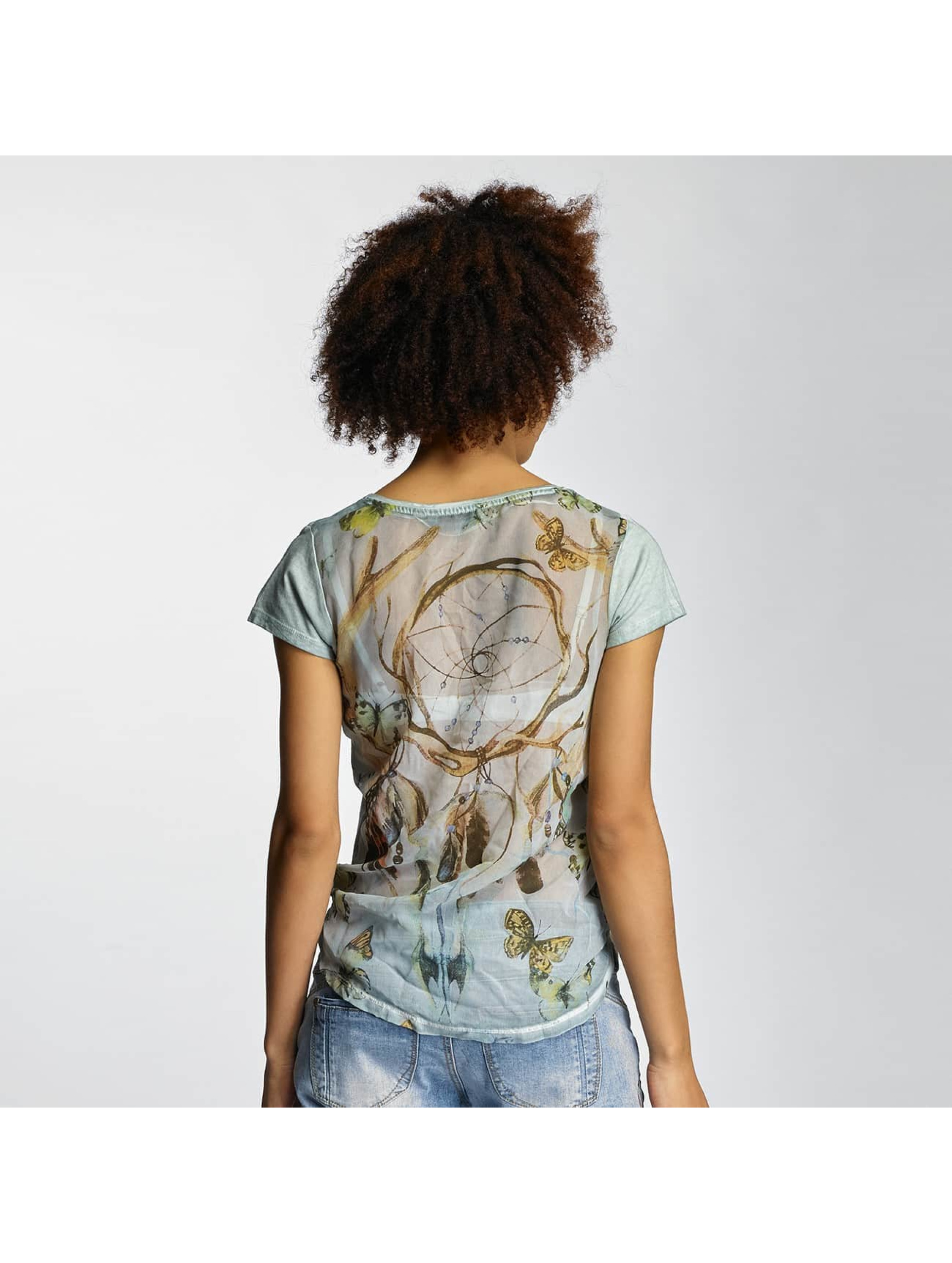 Urban Surface T-Shirt Dreamcatcher blau