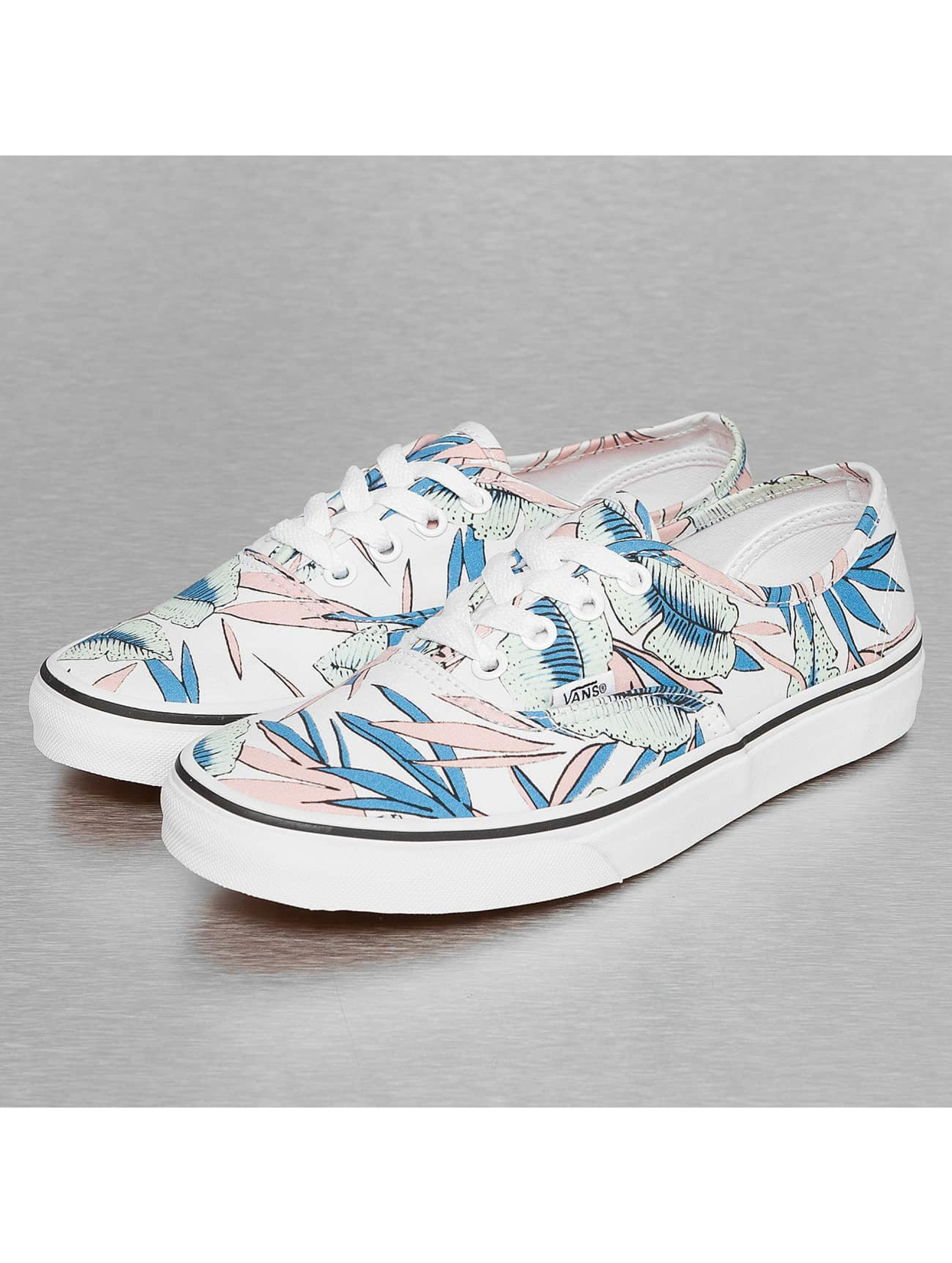 Vans Baskets Authentic Tropical Leaves blanc