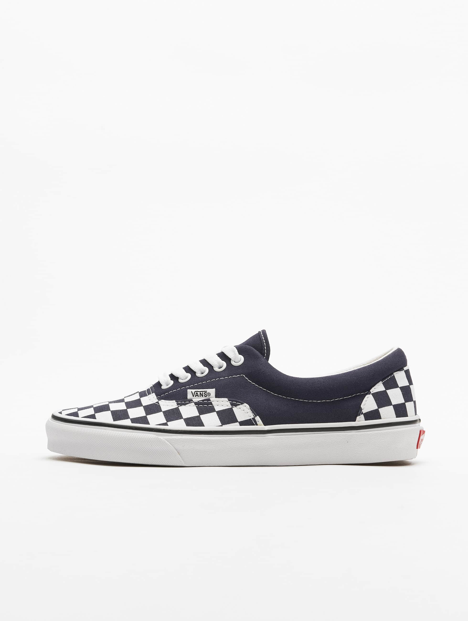 Vans UA Era Checkerboard Sneakers Night SkyTrue White Dark Blue