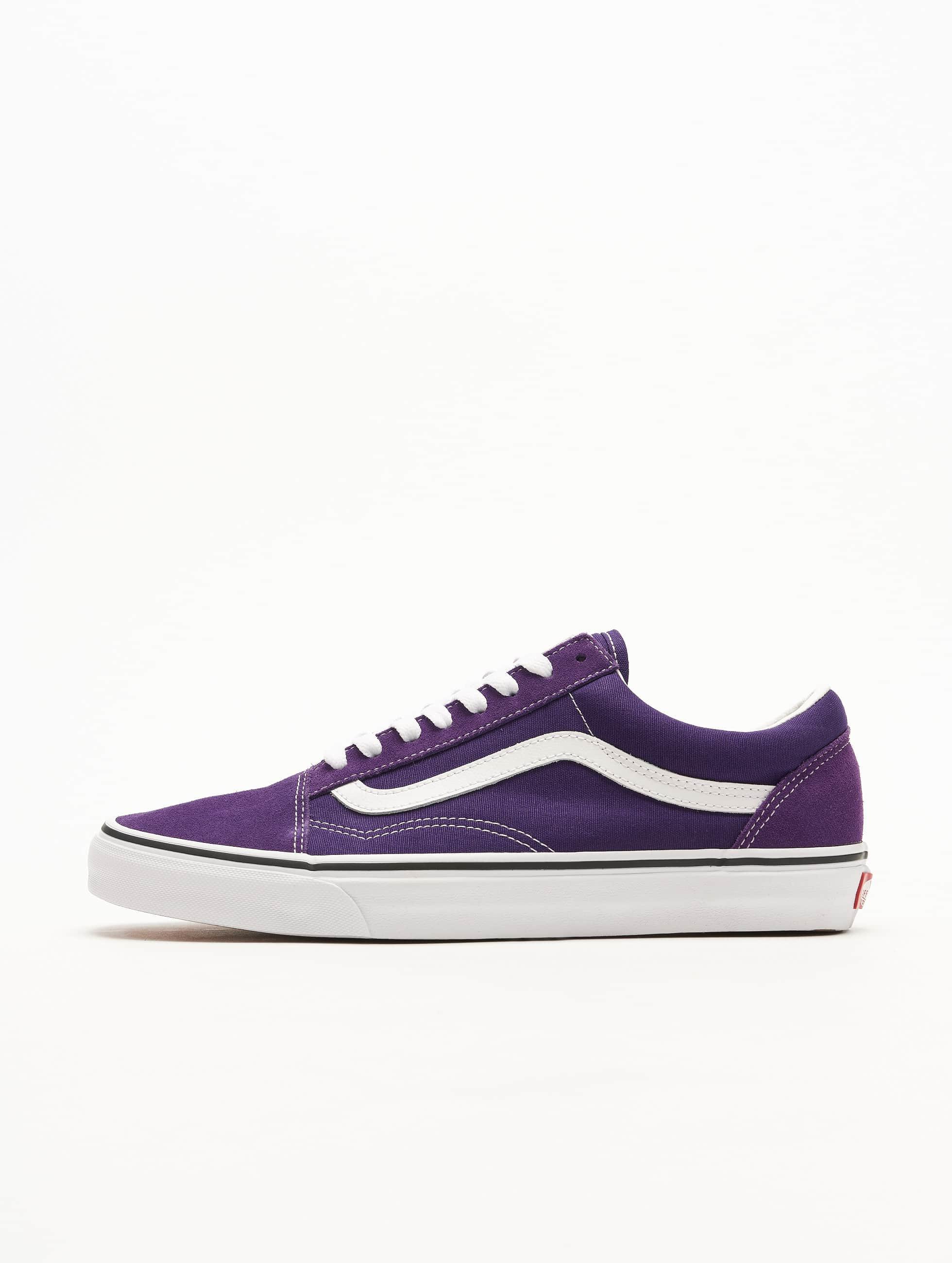 vans chaussures checkerboard old skool violet