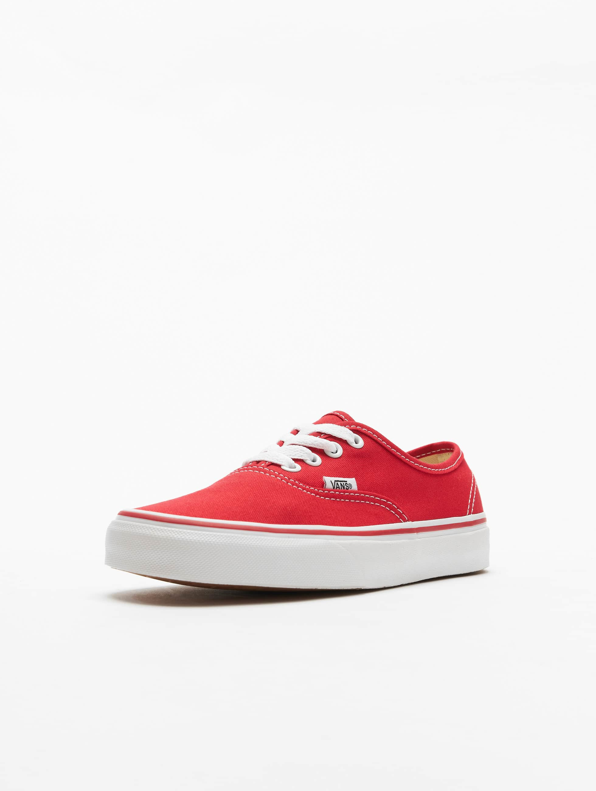 Vans Baskets Authentic rouge