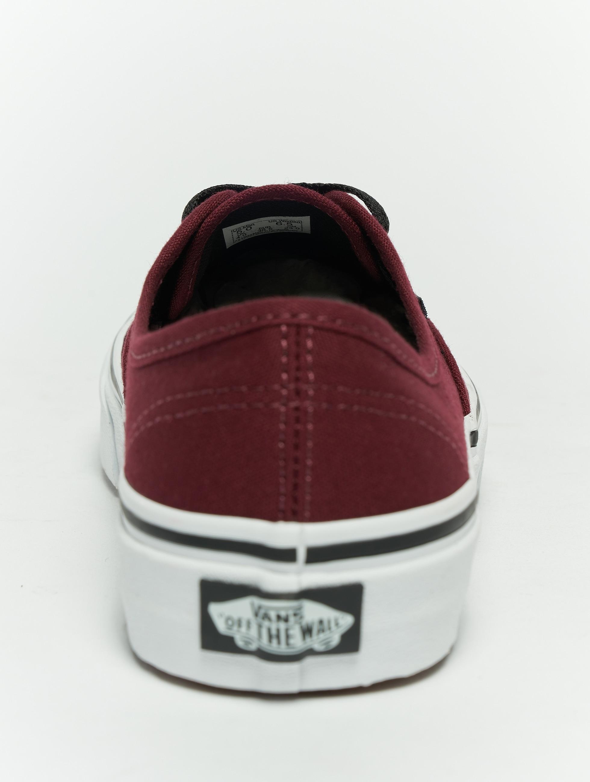 Vans Baskets Authentic rouge