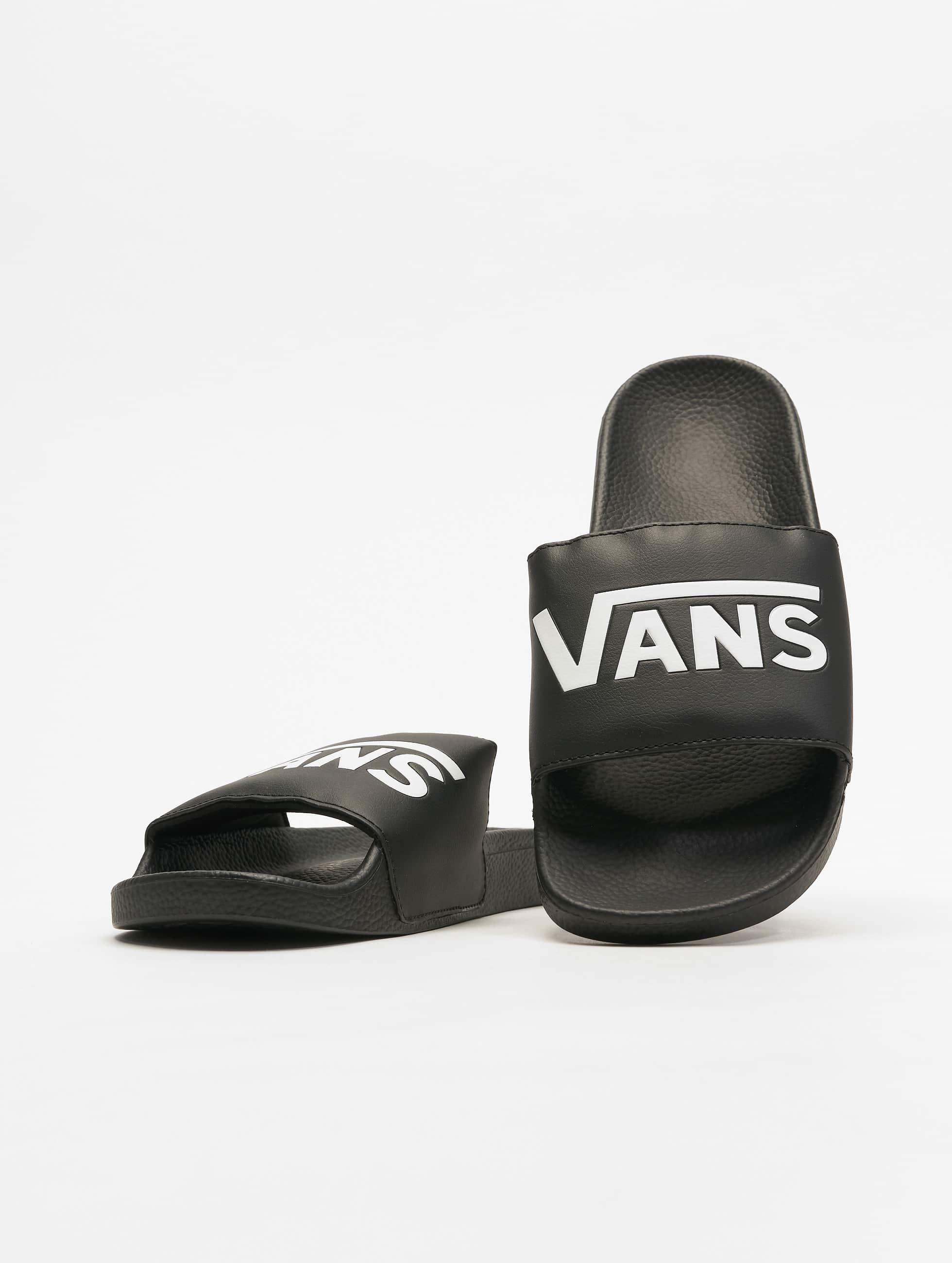 Vans Slide On Sandals Black
