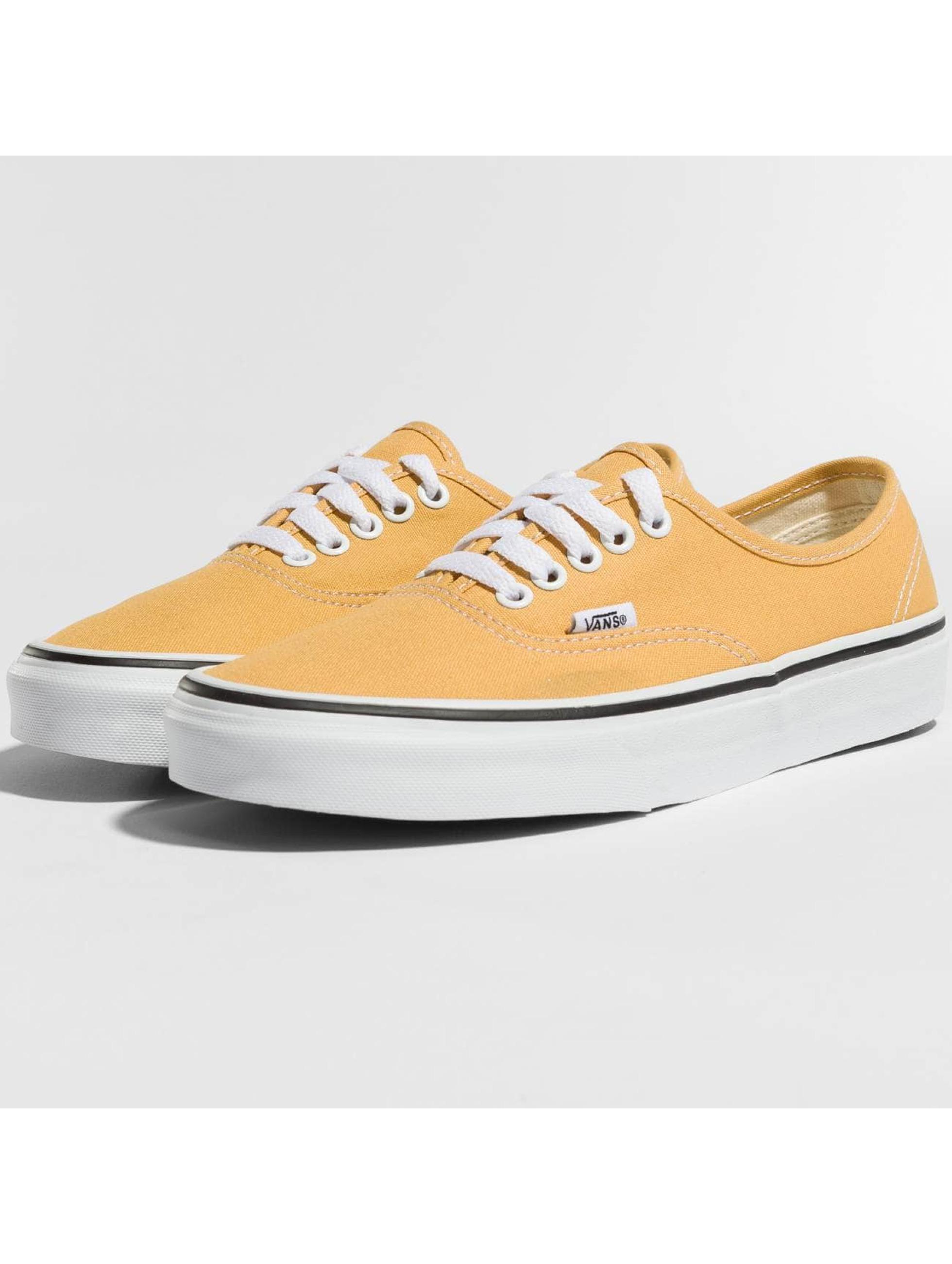 vans sneaker gelb