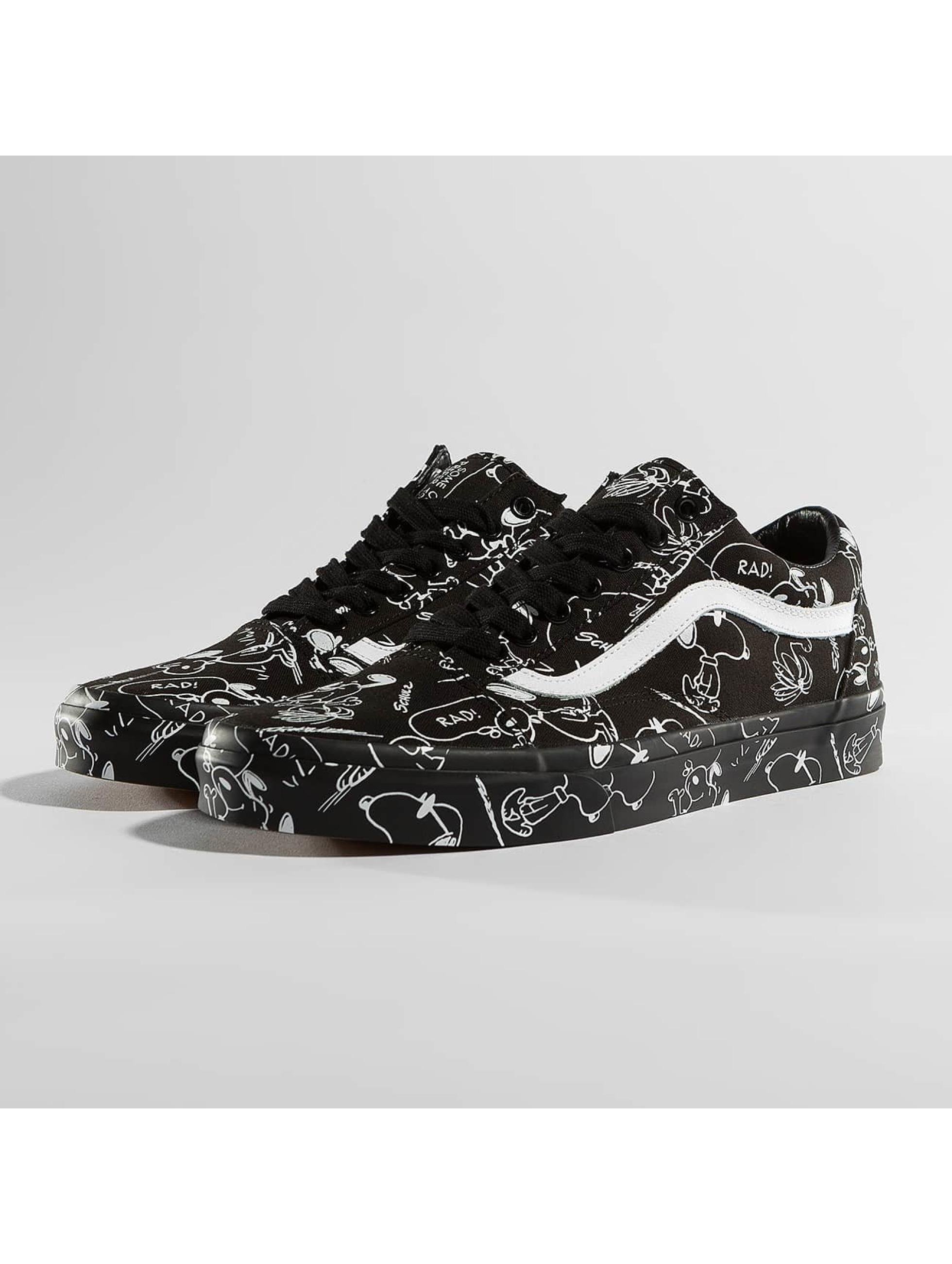 Vans Sneaker Peanuts Old School nero