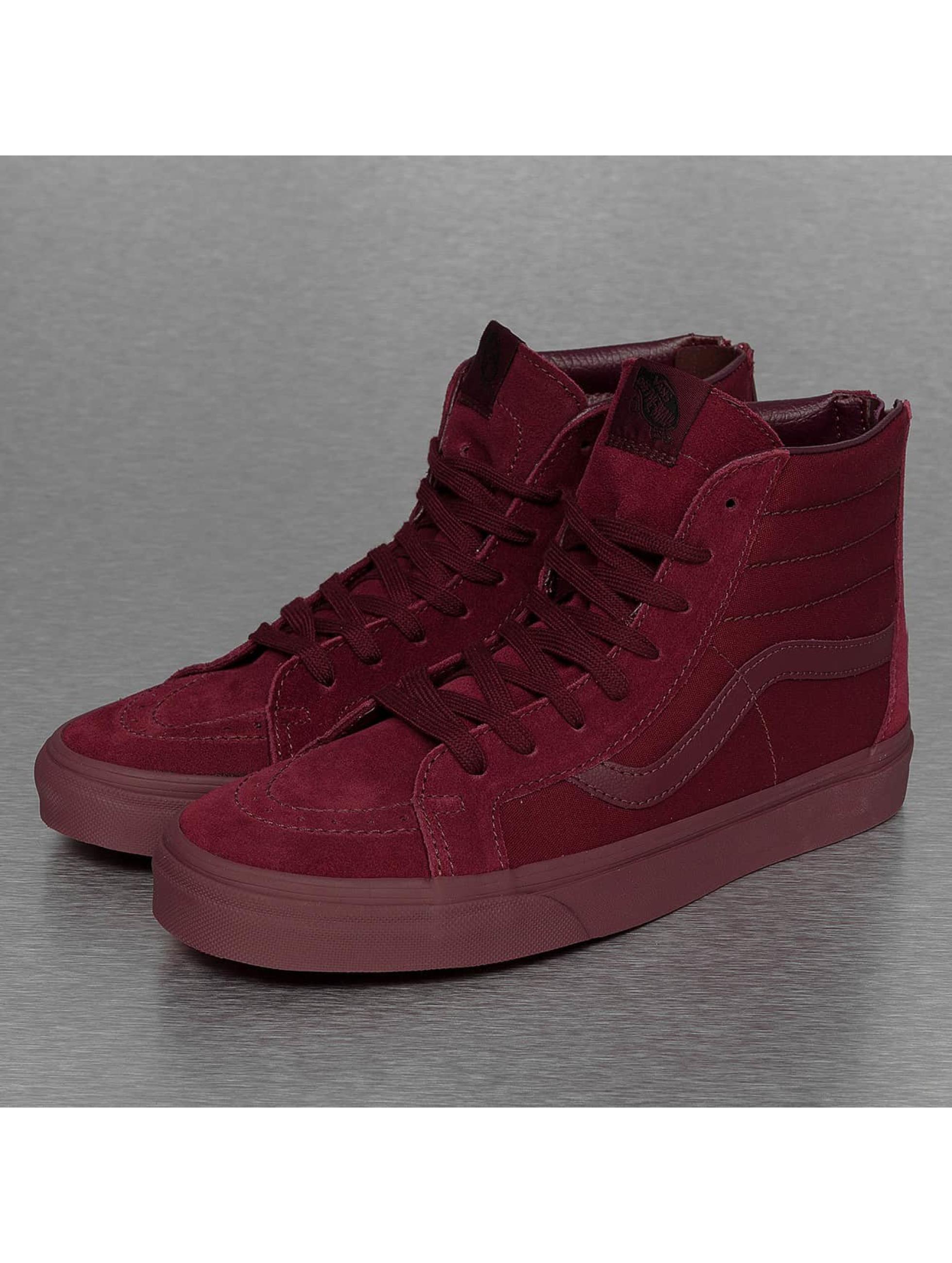 Vans schoen / sneaker SK8-Hi Reissue Zip in rood