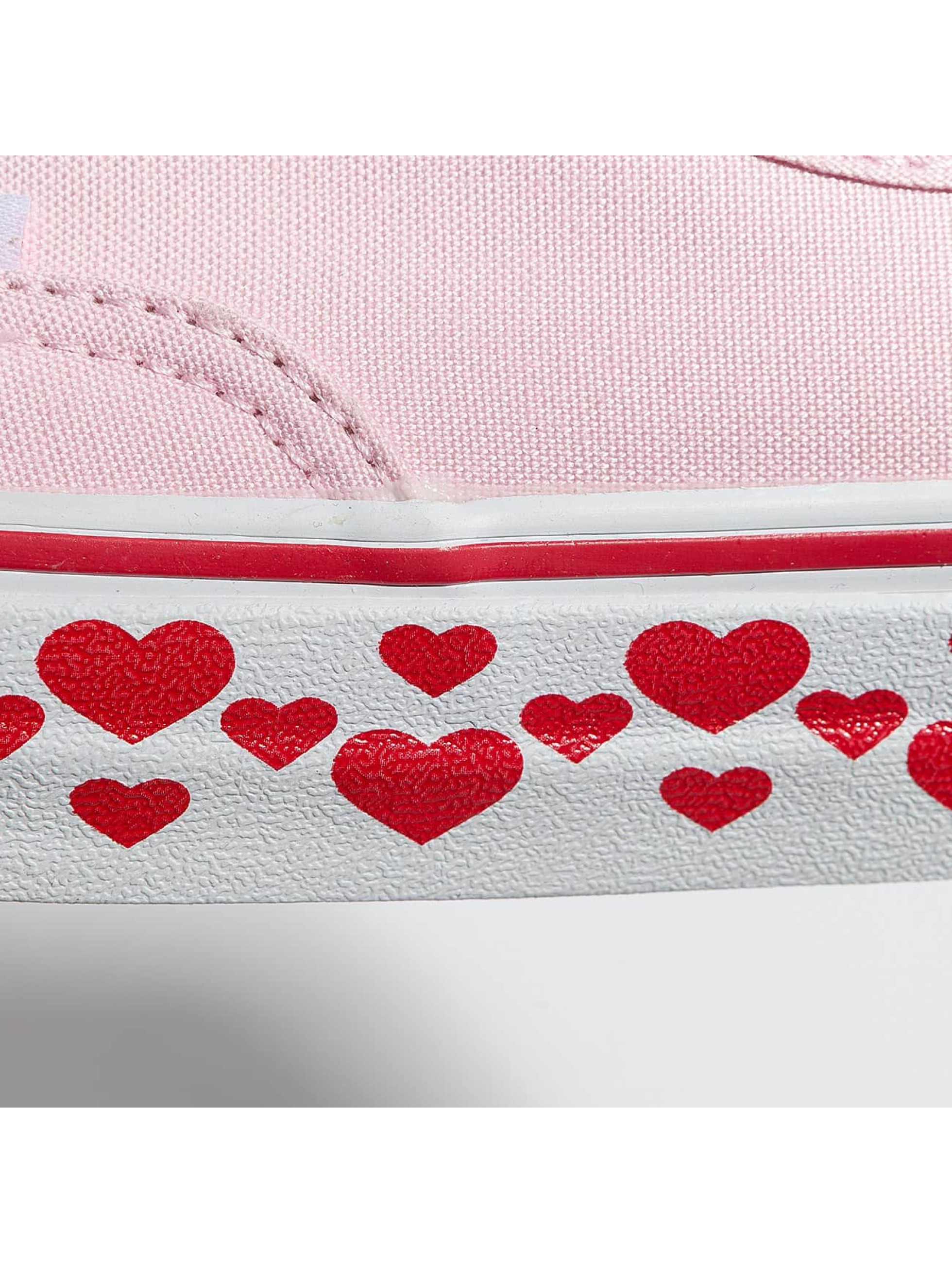 Vans Sneaker Authentic Hearts Tape rosa
