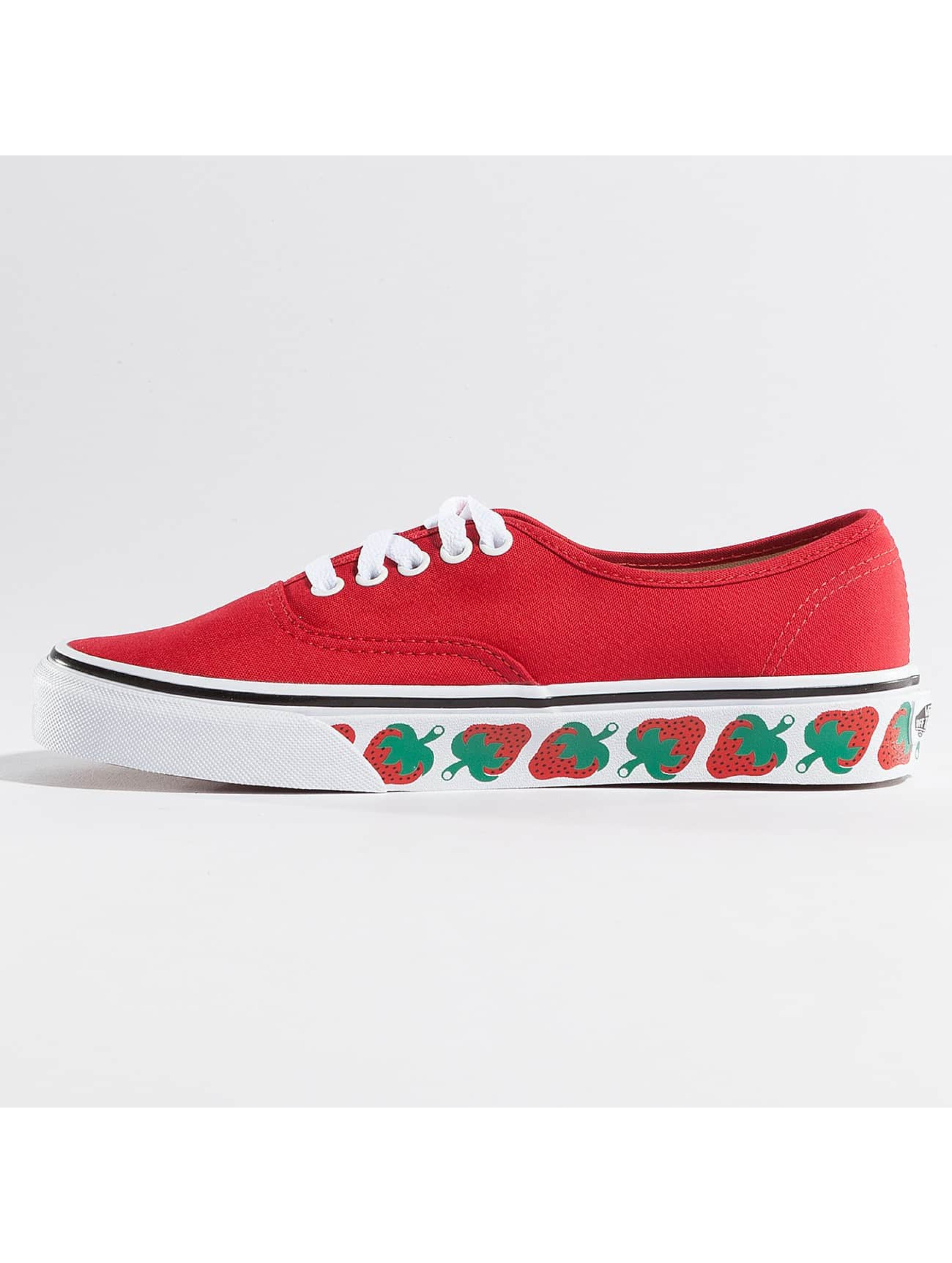 Vans Sneaker Authentic Strawberry Tape rot