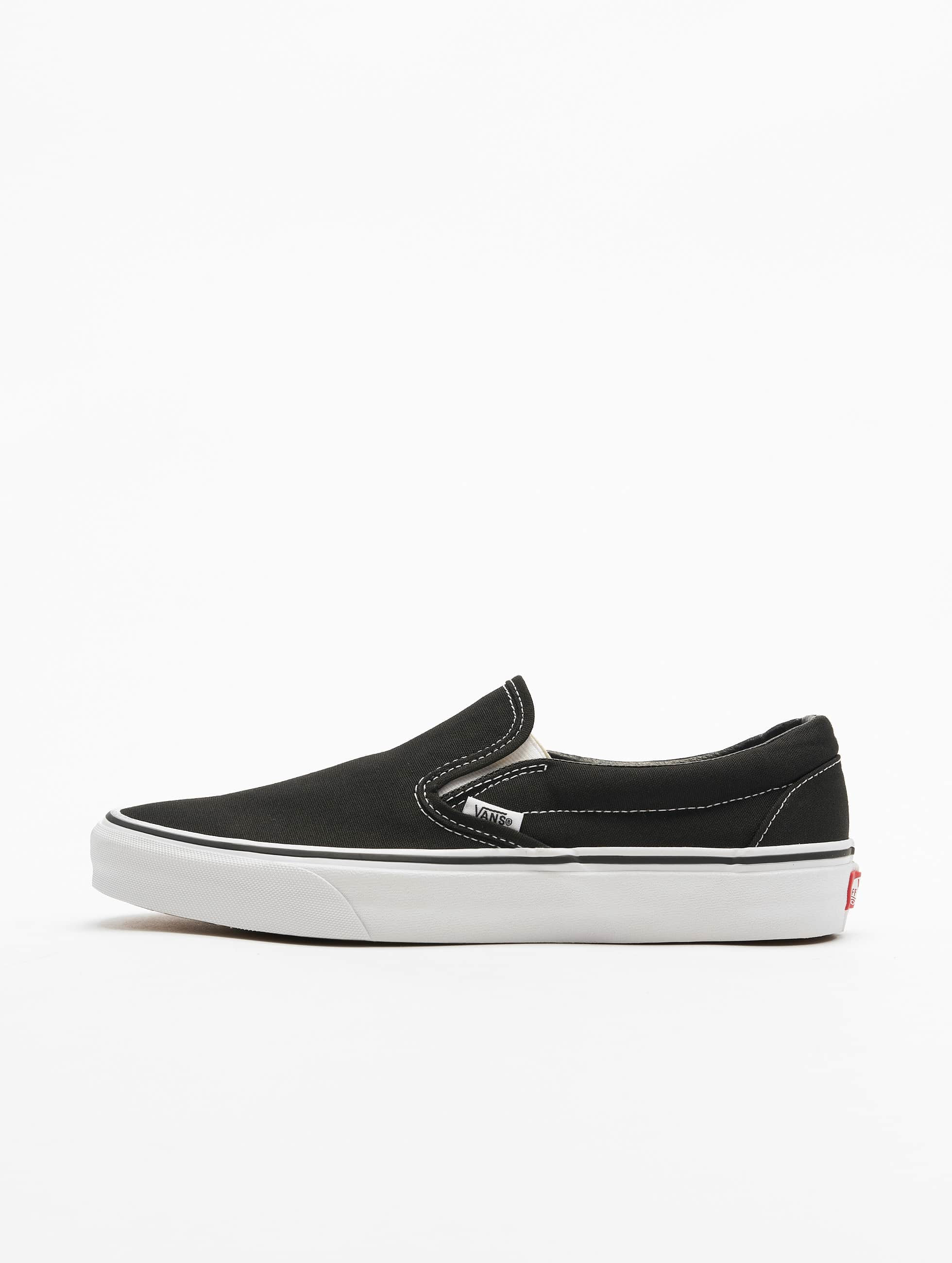vans herren sneaker classic slip on in schwarz 19528. Black Bedroom Furniture Sets. Home Design Ideas
