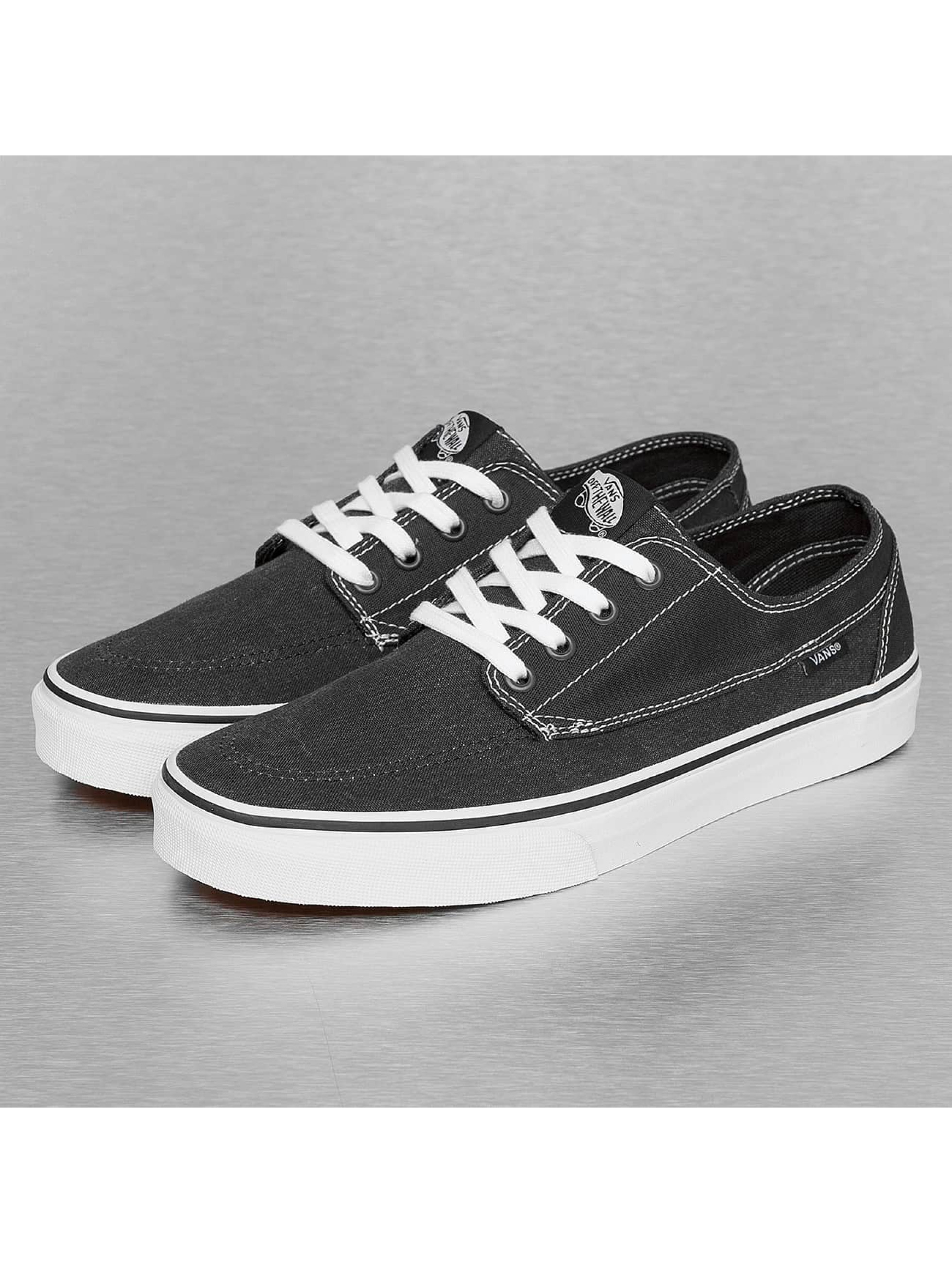 vans herren sneaker brigata washed canvas in schwarz 303794. Black Bedroom Furniture Sets. Home Design Ideas