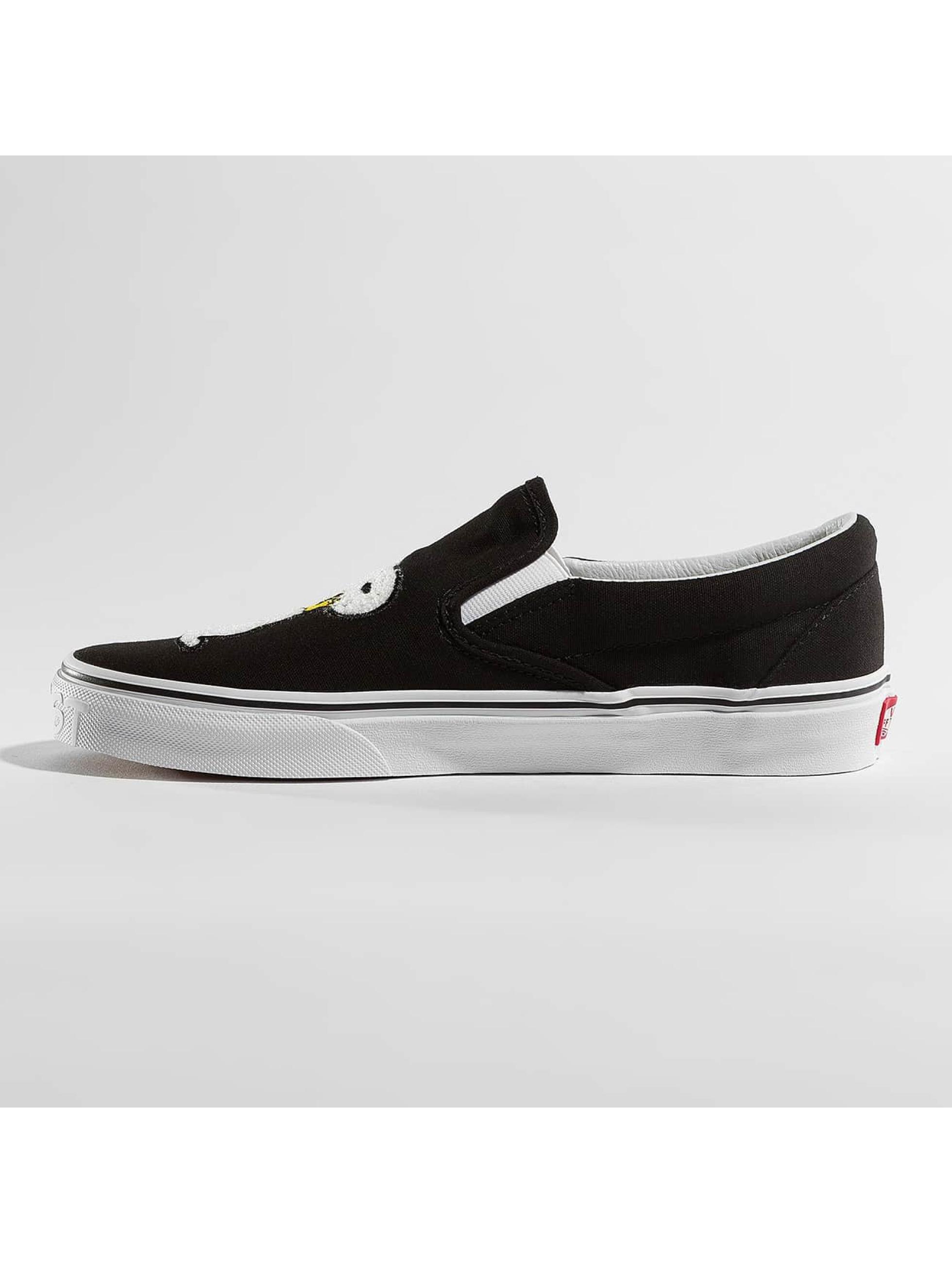 Vans Sneaker Peanuts Classic Slip On schwarz