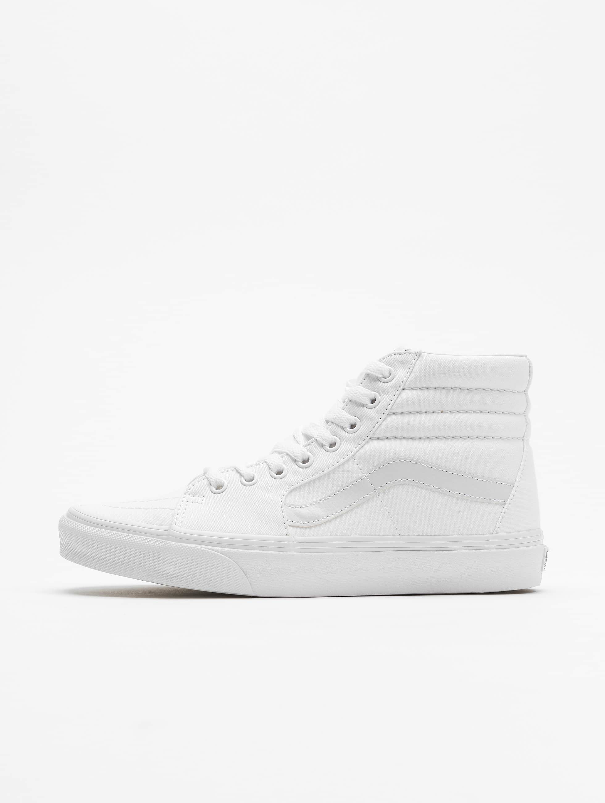vans old skool high weiß