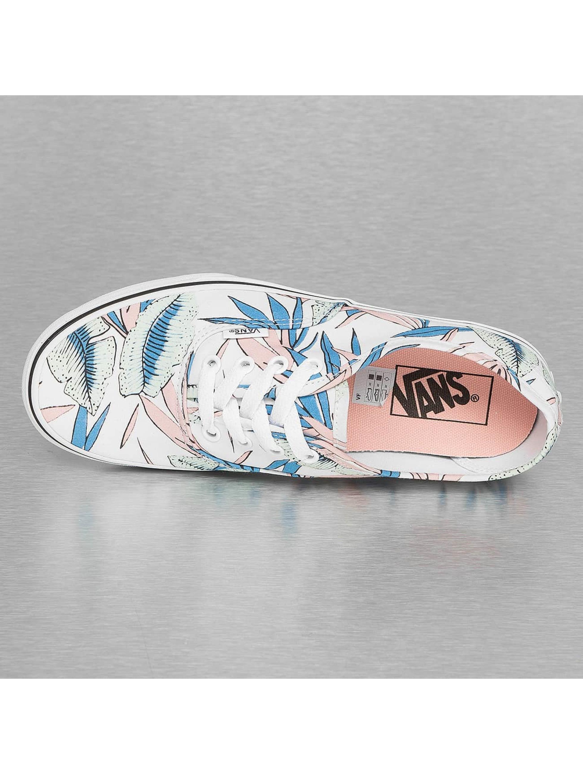 Vans Sneaker Authentic Tropical Leaves weiß