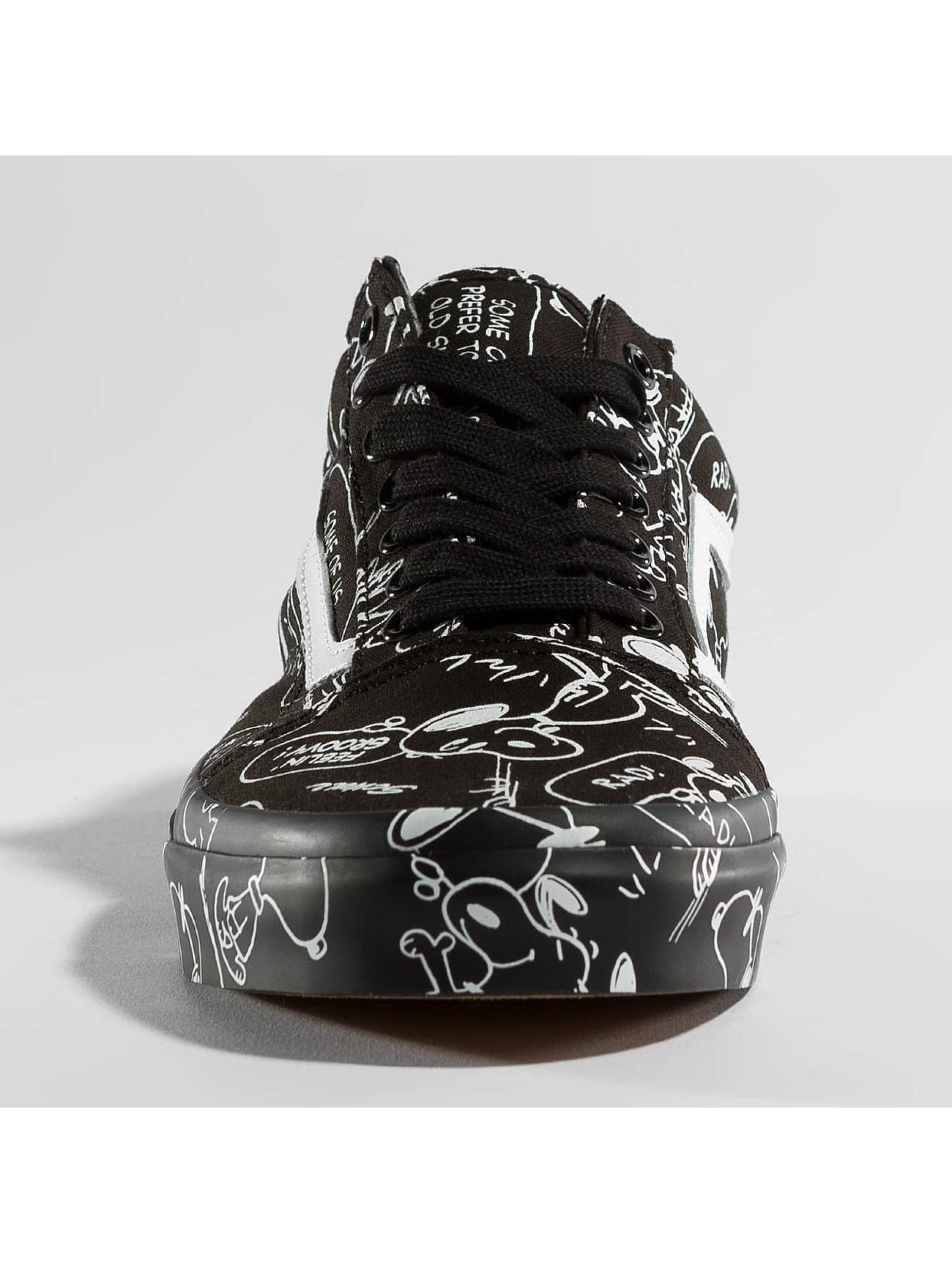 Vans Sneakers Peanuts Old School black