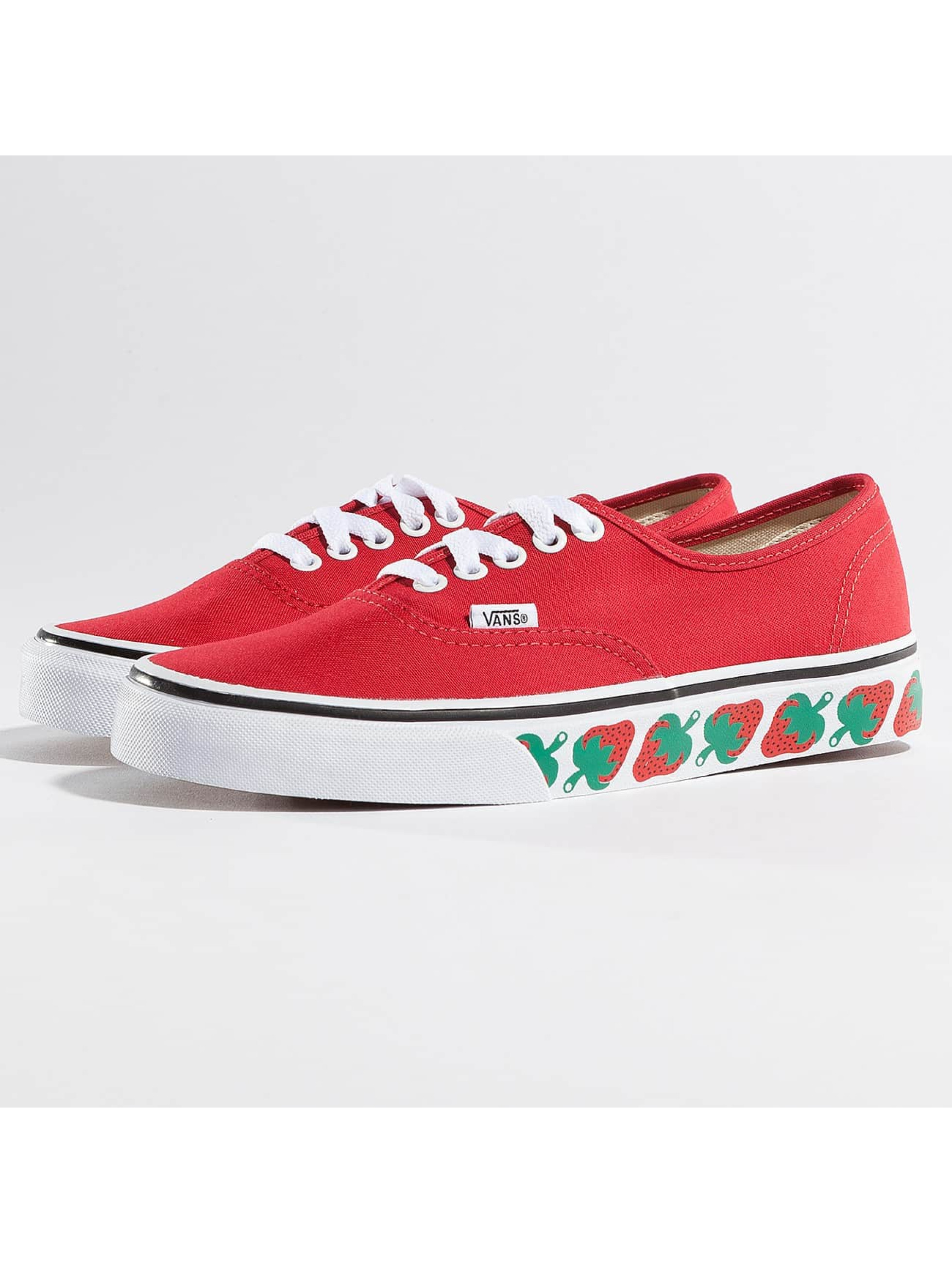 Vans Sneakers Authentic Strawberry Tape red