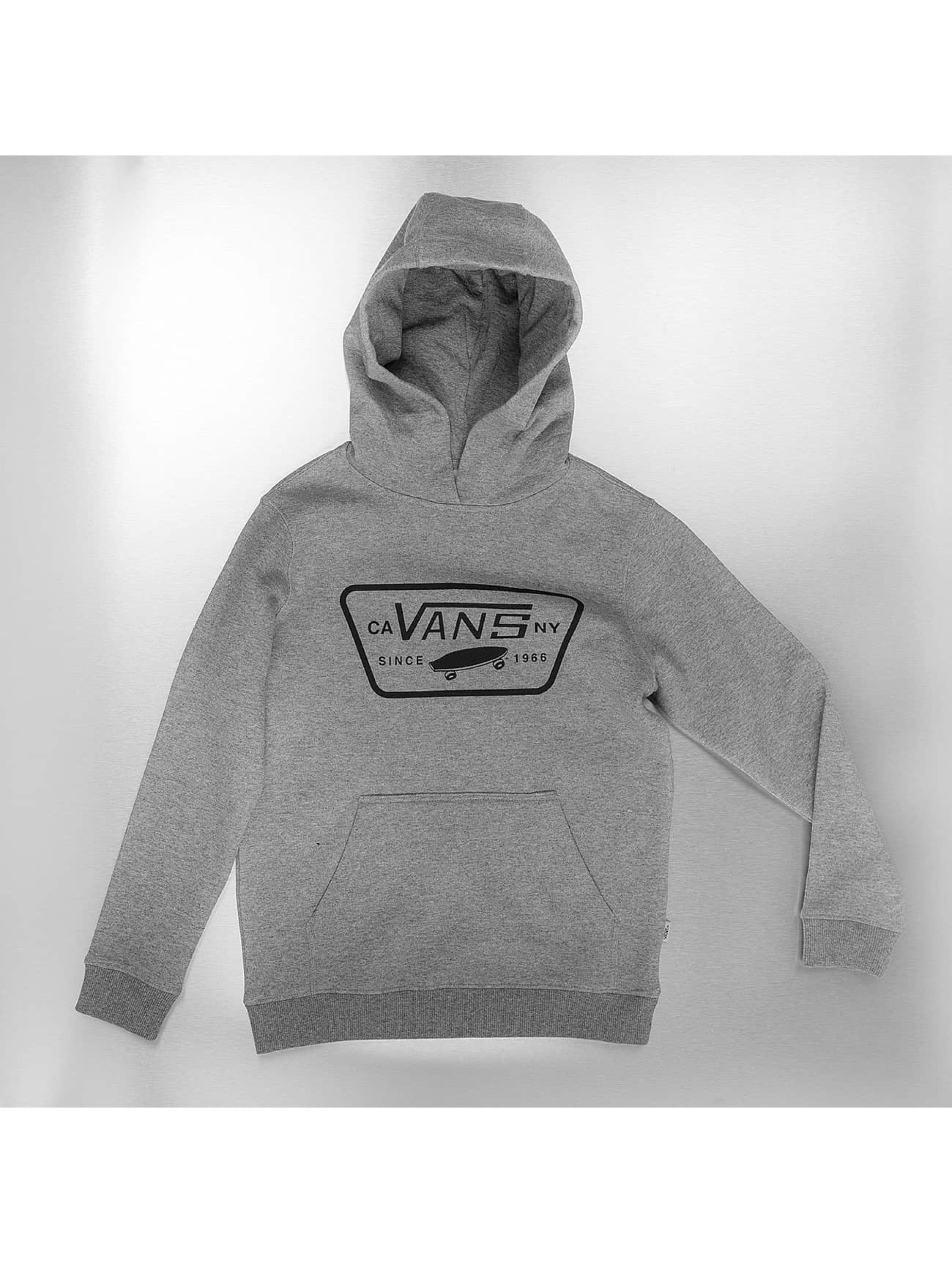 Vans Sudadera Full Patched Front gris