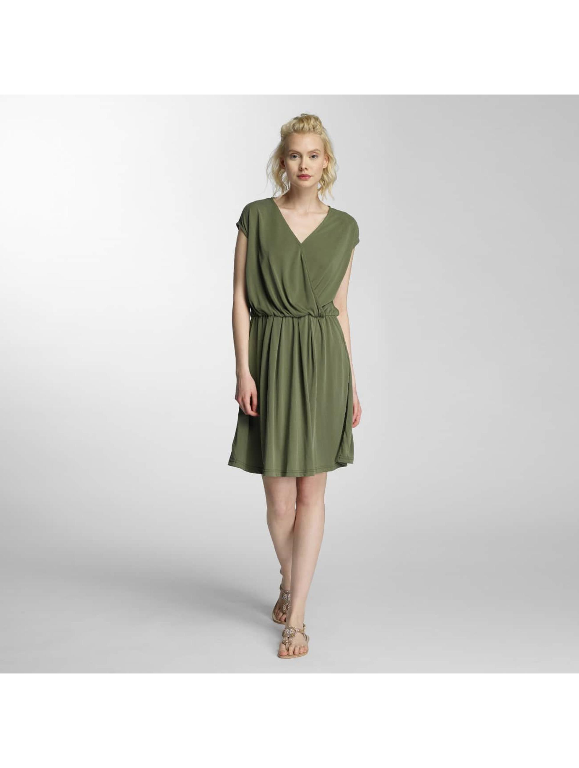 Vero Moda Šaty vmMetti olivová