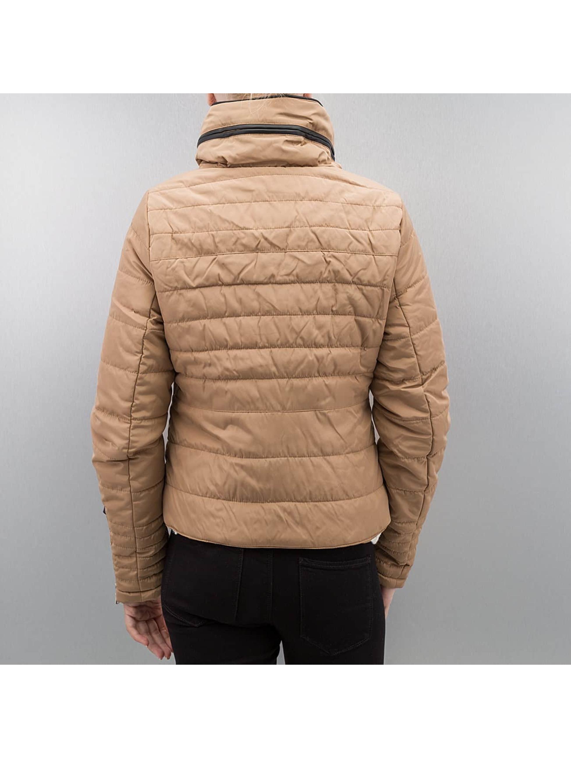 Vero Moda Демисезонная куртка vmLulu бежевый
