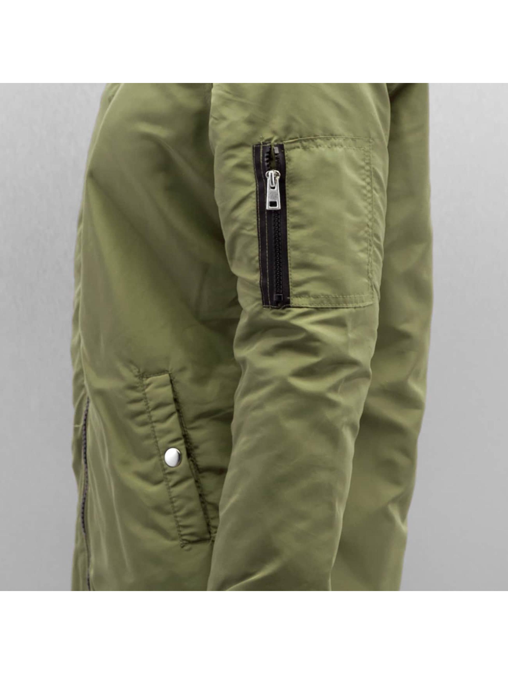 Vero Moda Куртка-бомбардир vmDicte зеленый
