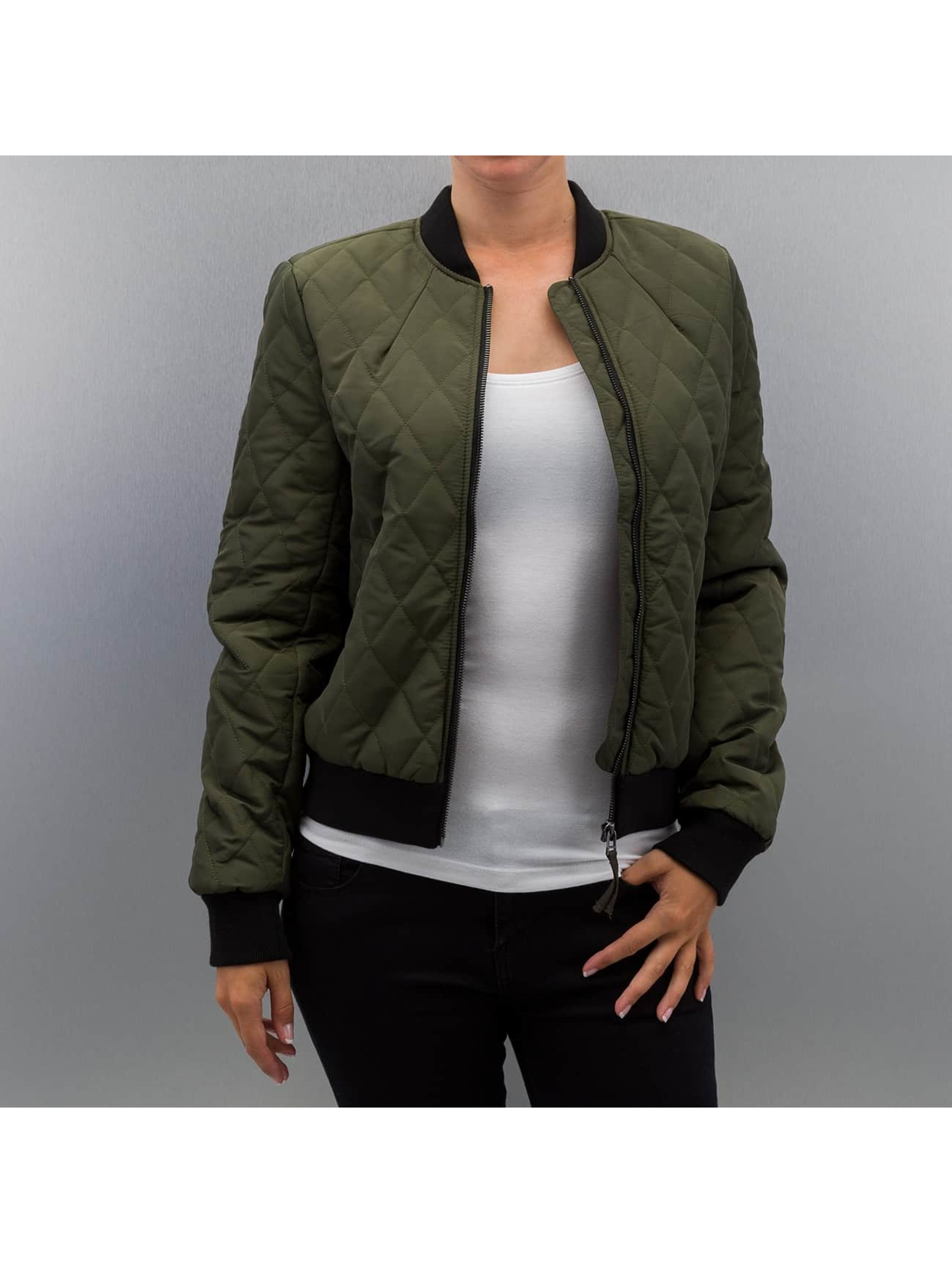 Vero Moda Куртка-бомбардир vmMila зеленый